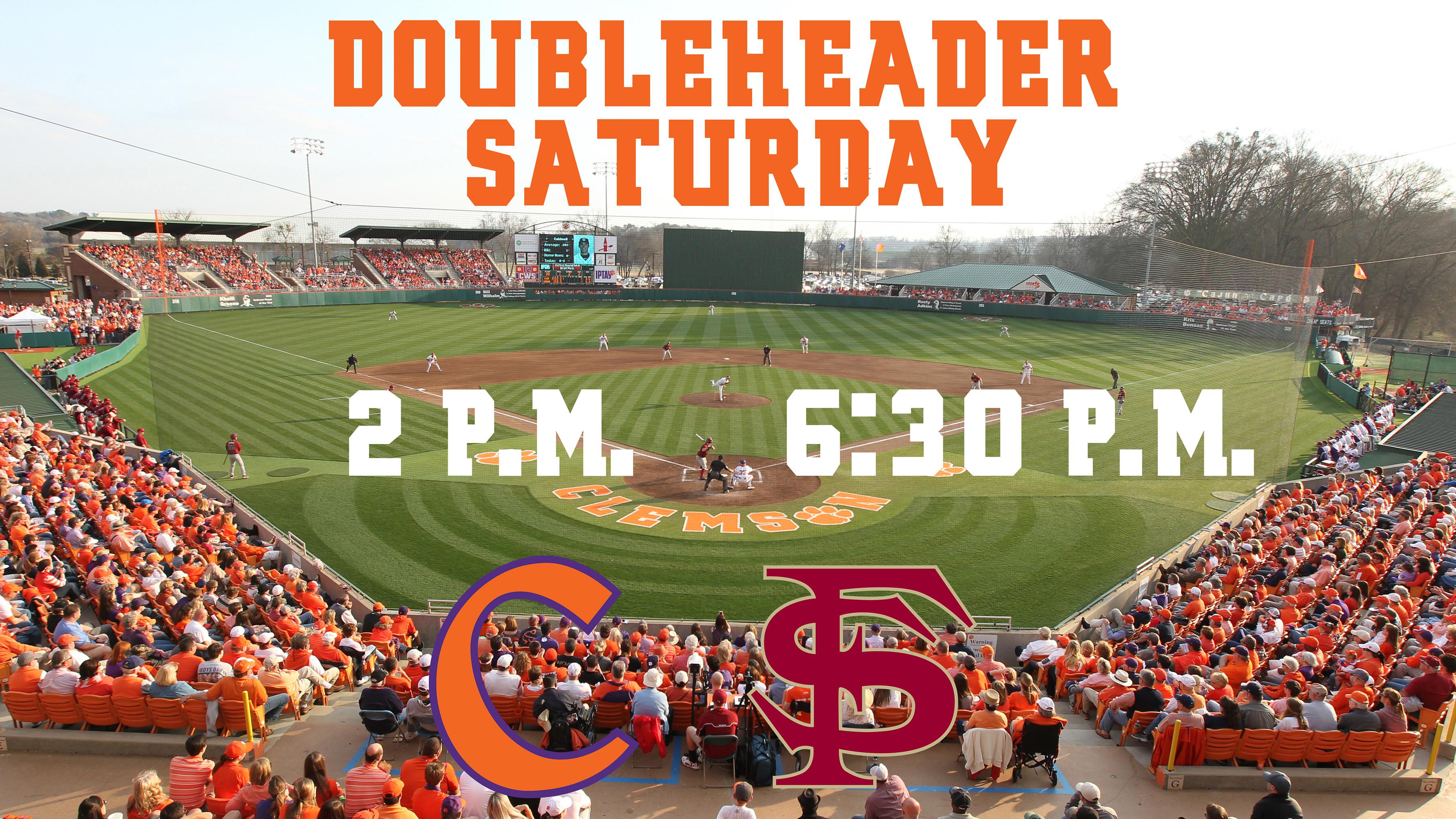 Tigers & Seminoles to Play Doubleheader Saturday