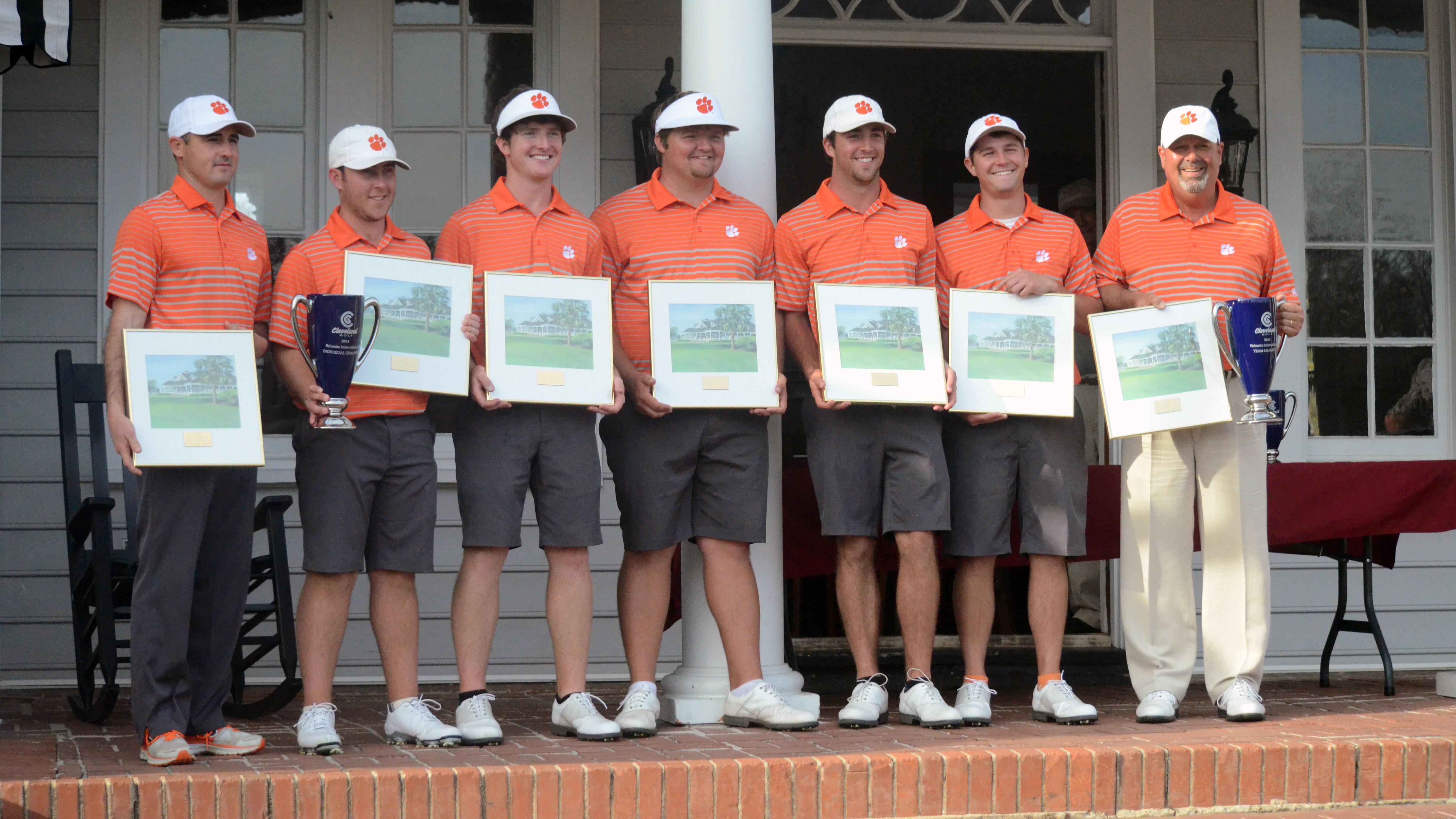 Tigers Win Cleveland Golf Palmetto Intercollegiate