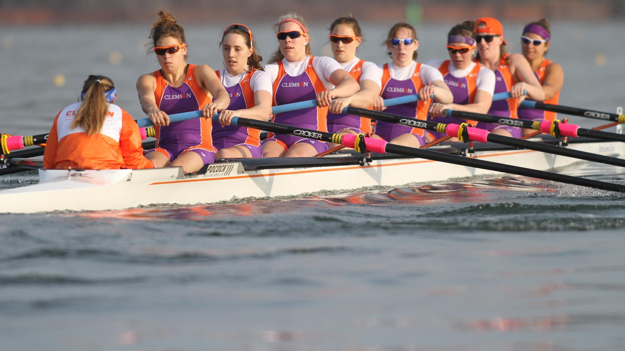 No. 18 Clemson Takes Two of Five Races on Weather-Shortened Day