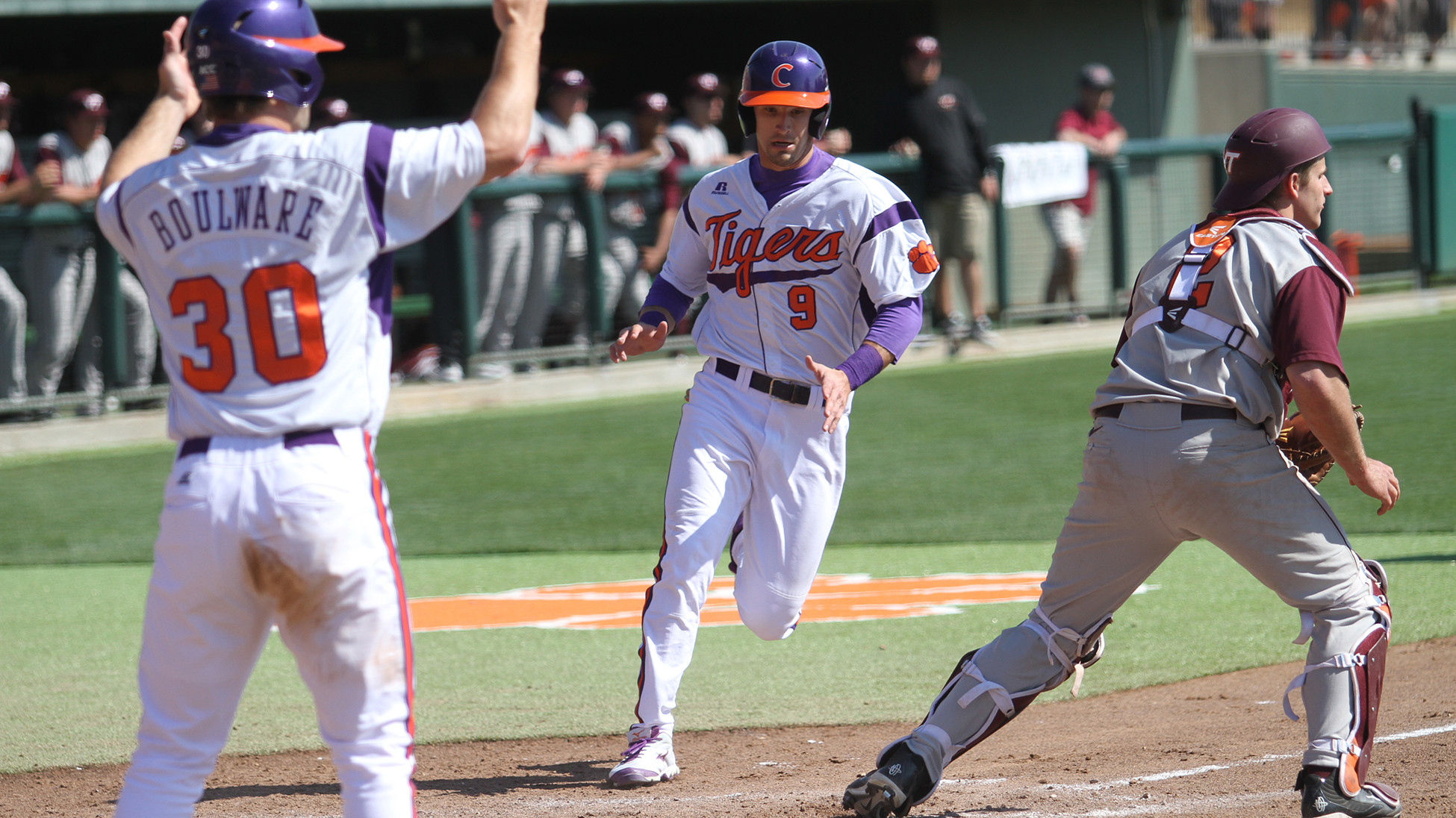 #15 Tigers Complete Sweep With 11-4 Win Over Hokies Sunday