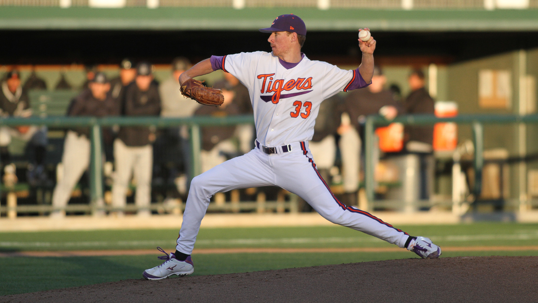 Erwin Pitches No. 14 Tigers Over Mountaineers, 2-1
