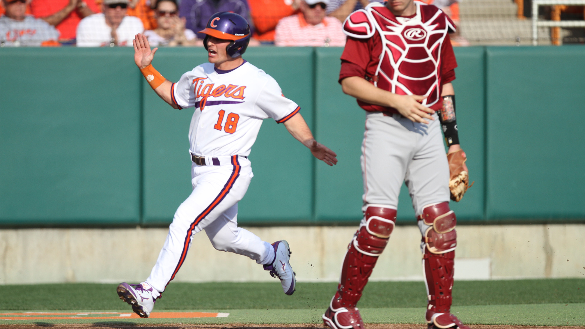 #3 Gamecocks Rally in Ninth for 5-3 Win Over #11 Tigers Sunday