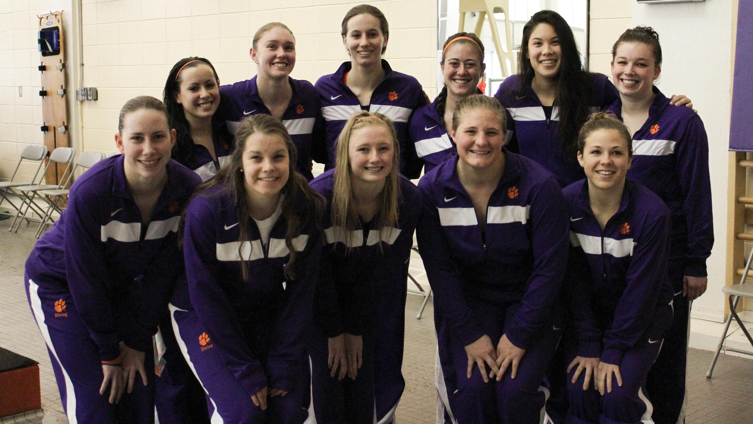 Women?s Diving Named CSCAA Division I Scholar All-America Team