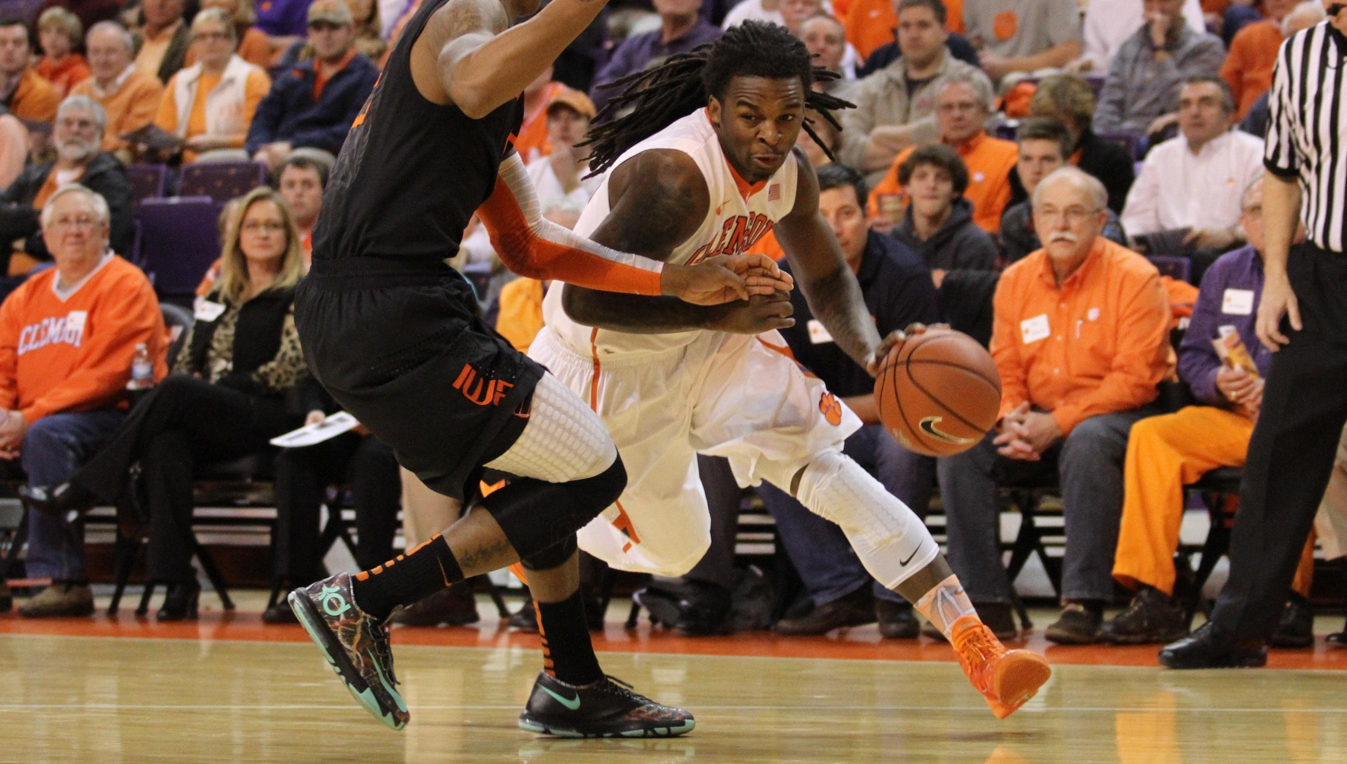 Clemson Downs Miami, 58-54, for 10th ACC Win of Season