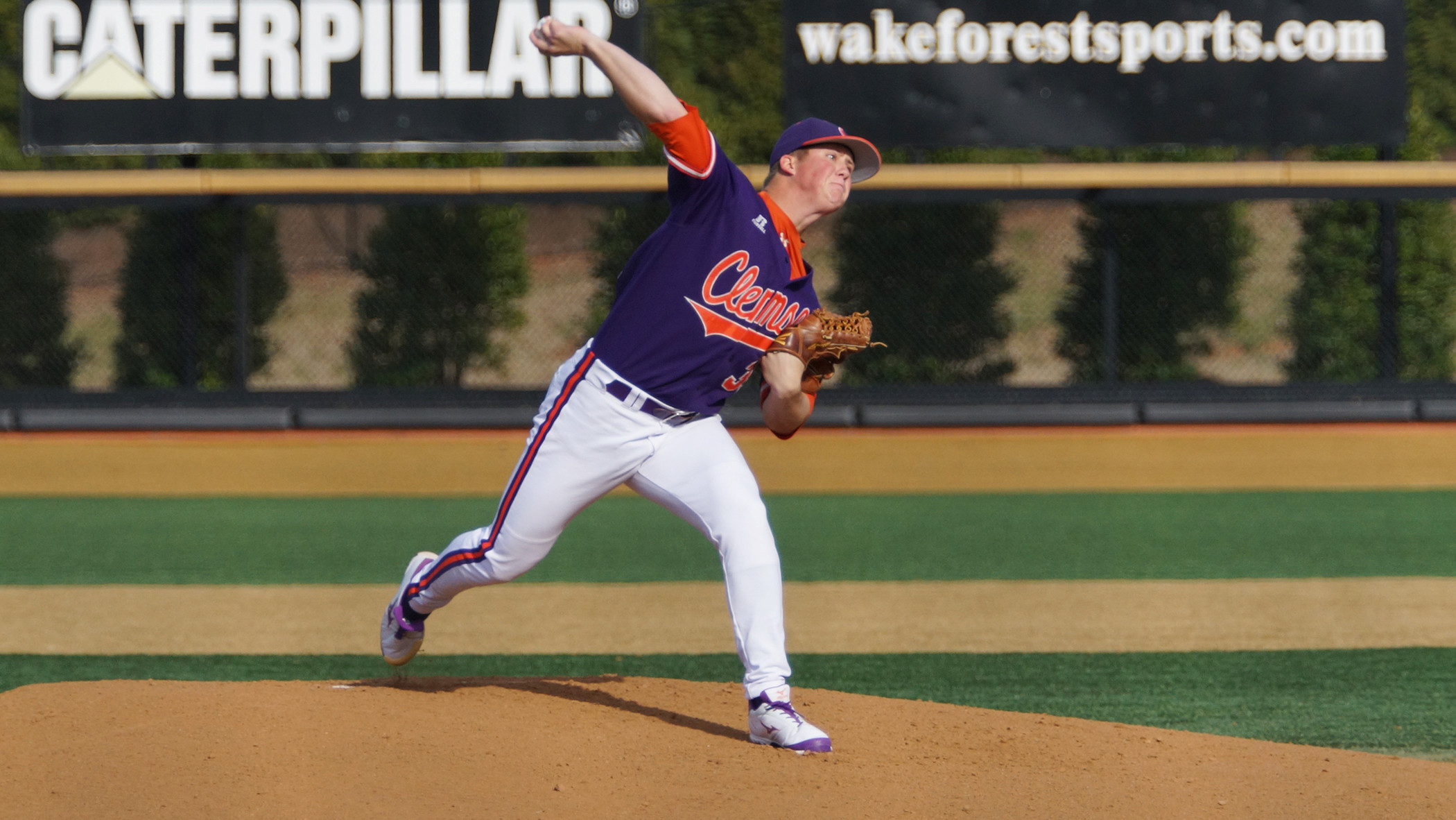 No. 14 Tigers Defeat Demon Deacons 7-4 in Game 2 of DH Saturday