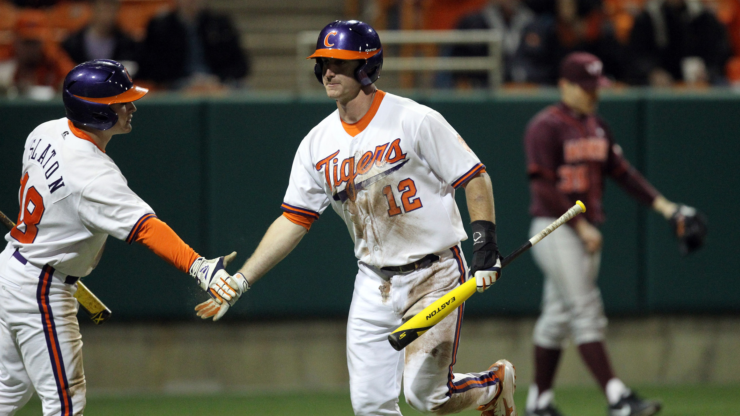 #15 Tigers Walk Off With 7-6 Win Over Hokies Friday in ACC Opener