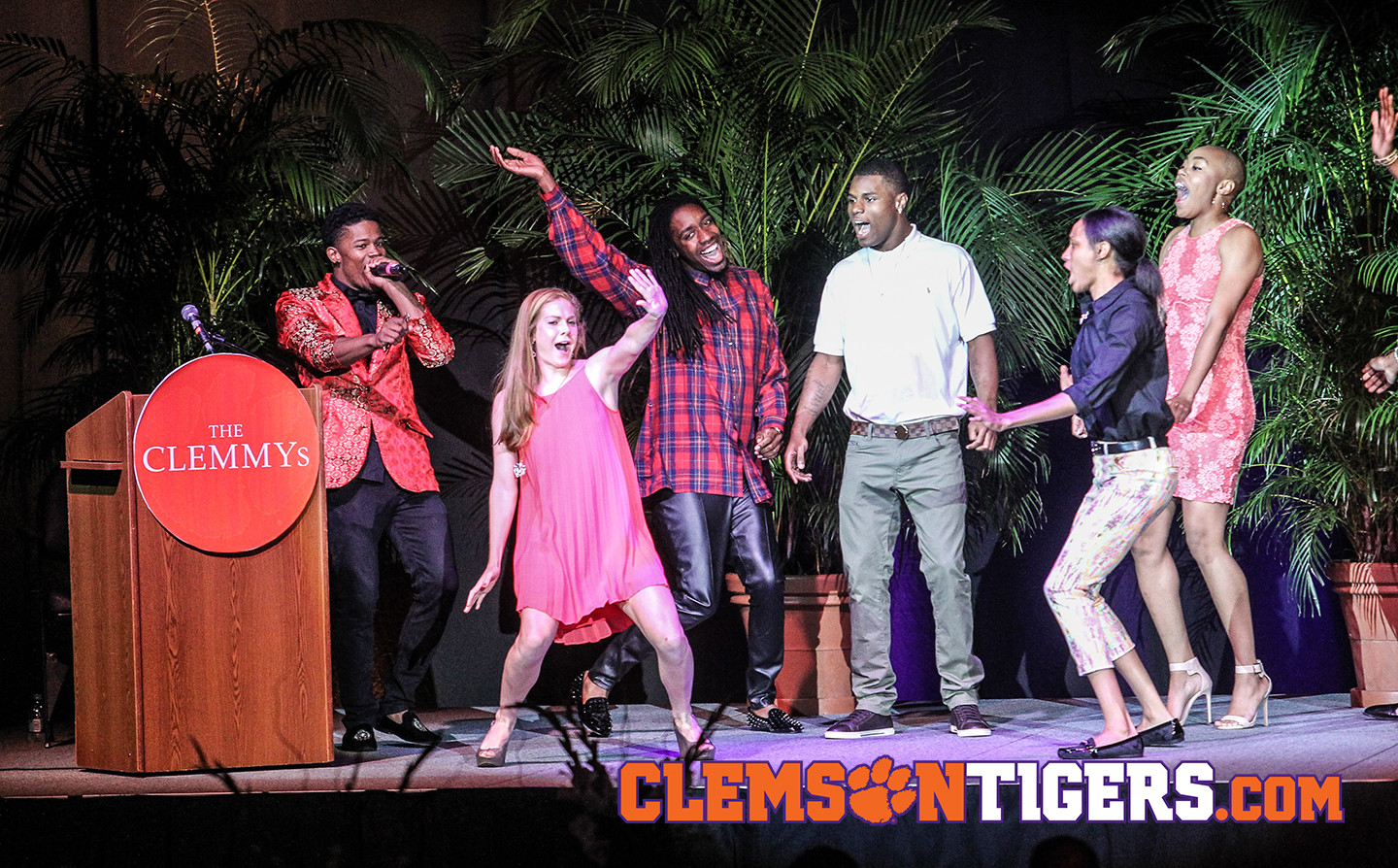 Athletic Department Presents Academic & Athletic Awards at CLEMMYs