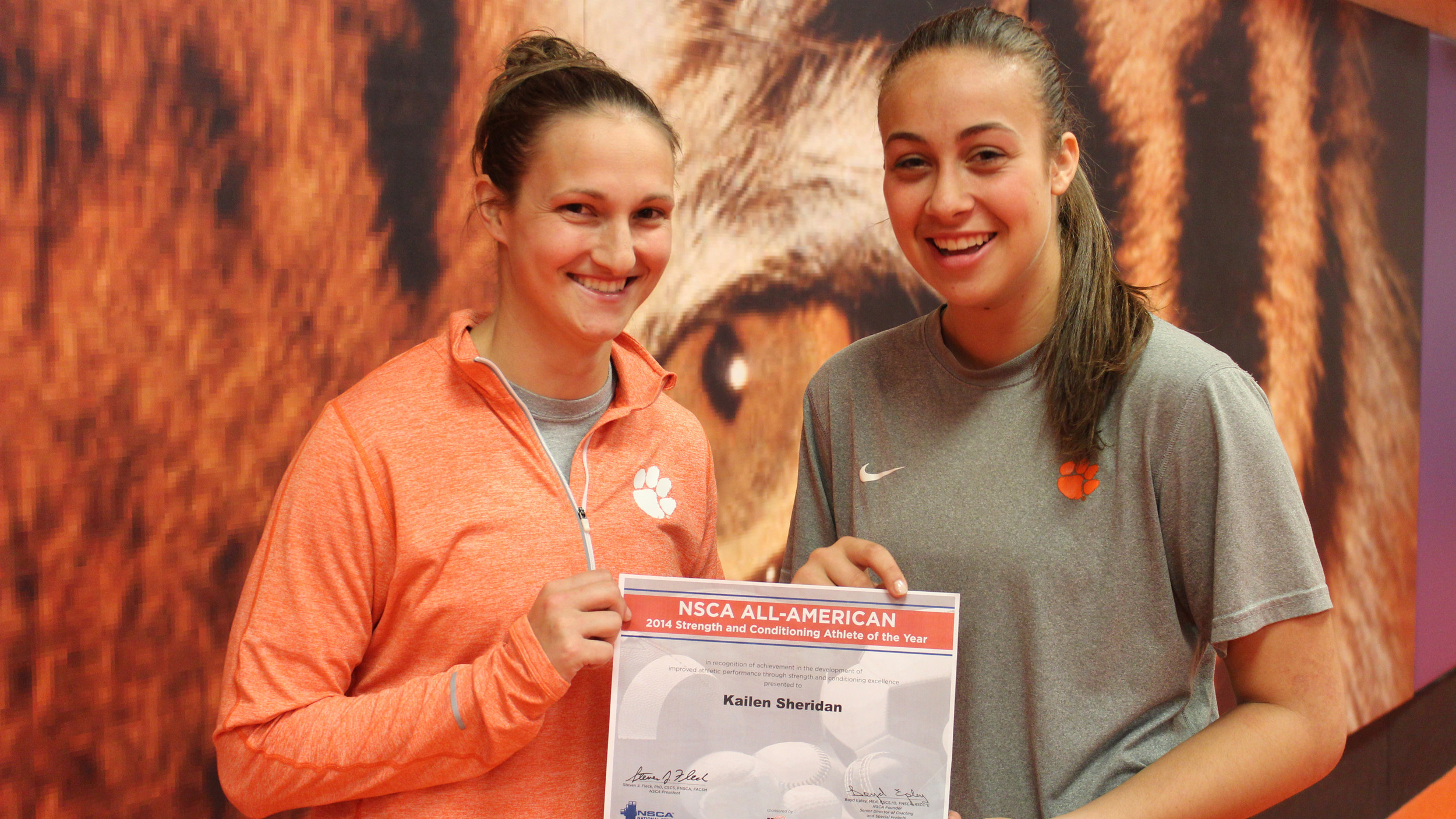 Sheridan Named Strength & Conditioning All-American
