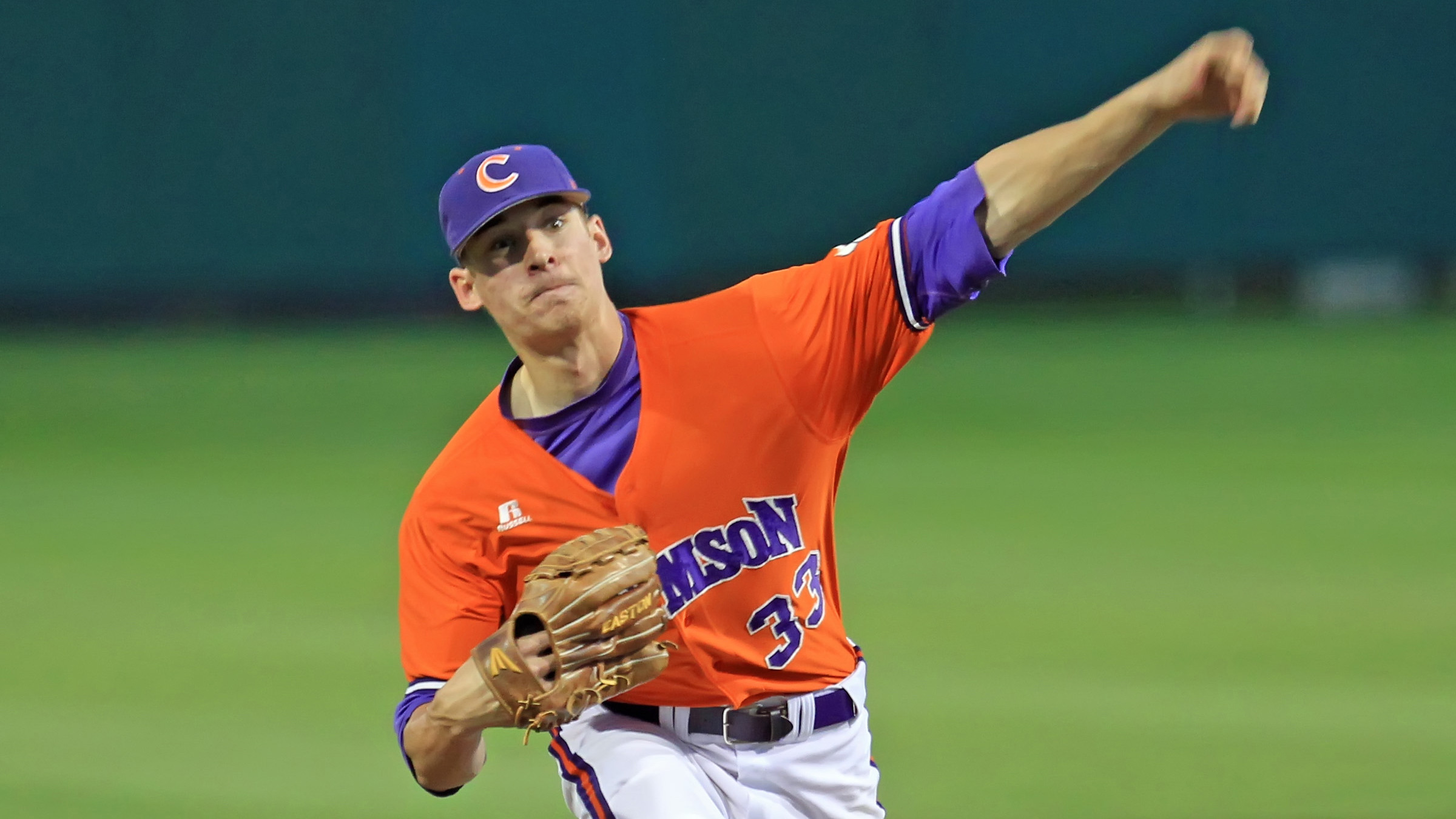 Erwin Fans 13 in No. 20 Clemson's 11-3 Win Over Catamounts on Wednesday