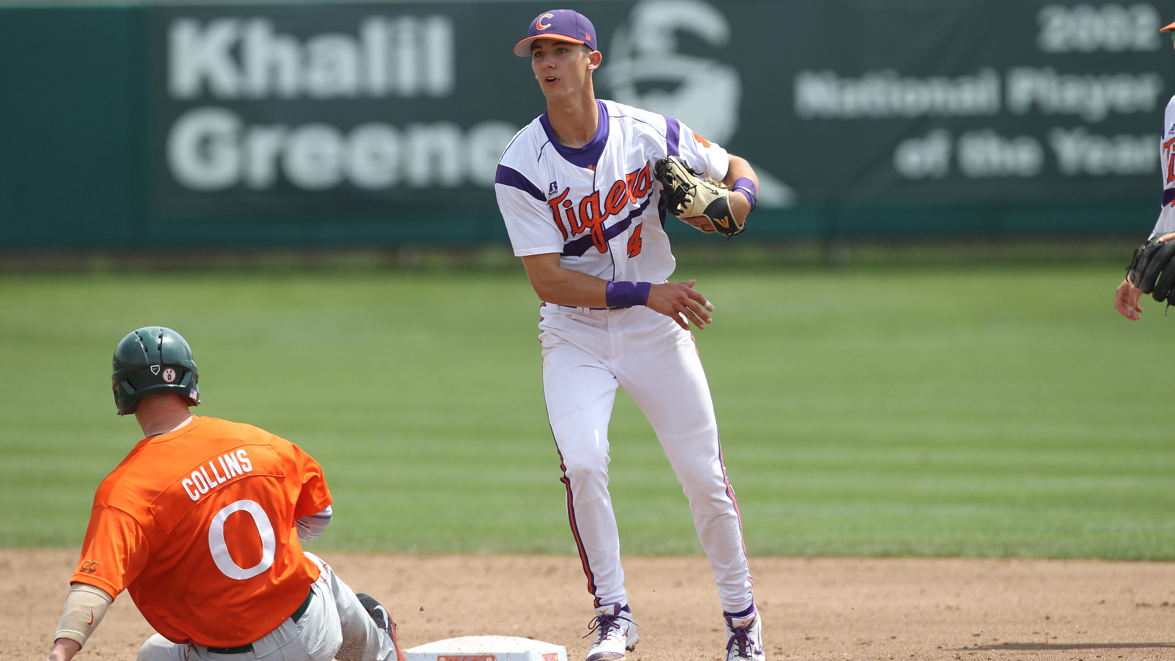 No. 11 Hurricanes Defeat No. 20 Tigers 10-2 Sunday to Sweep Series