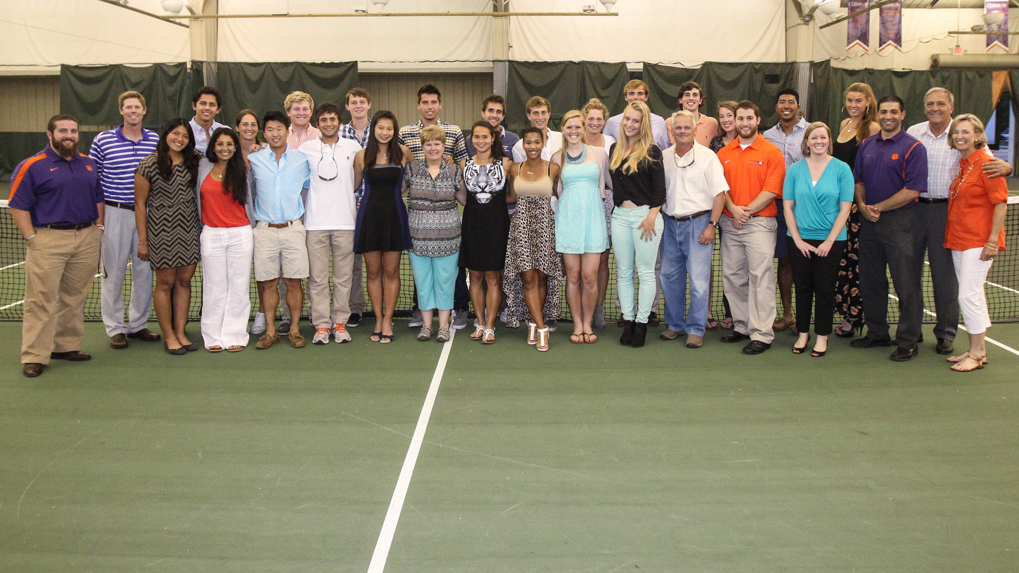 Clemson Tennis Teams Honor Student-Athletes at Awards Banquet