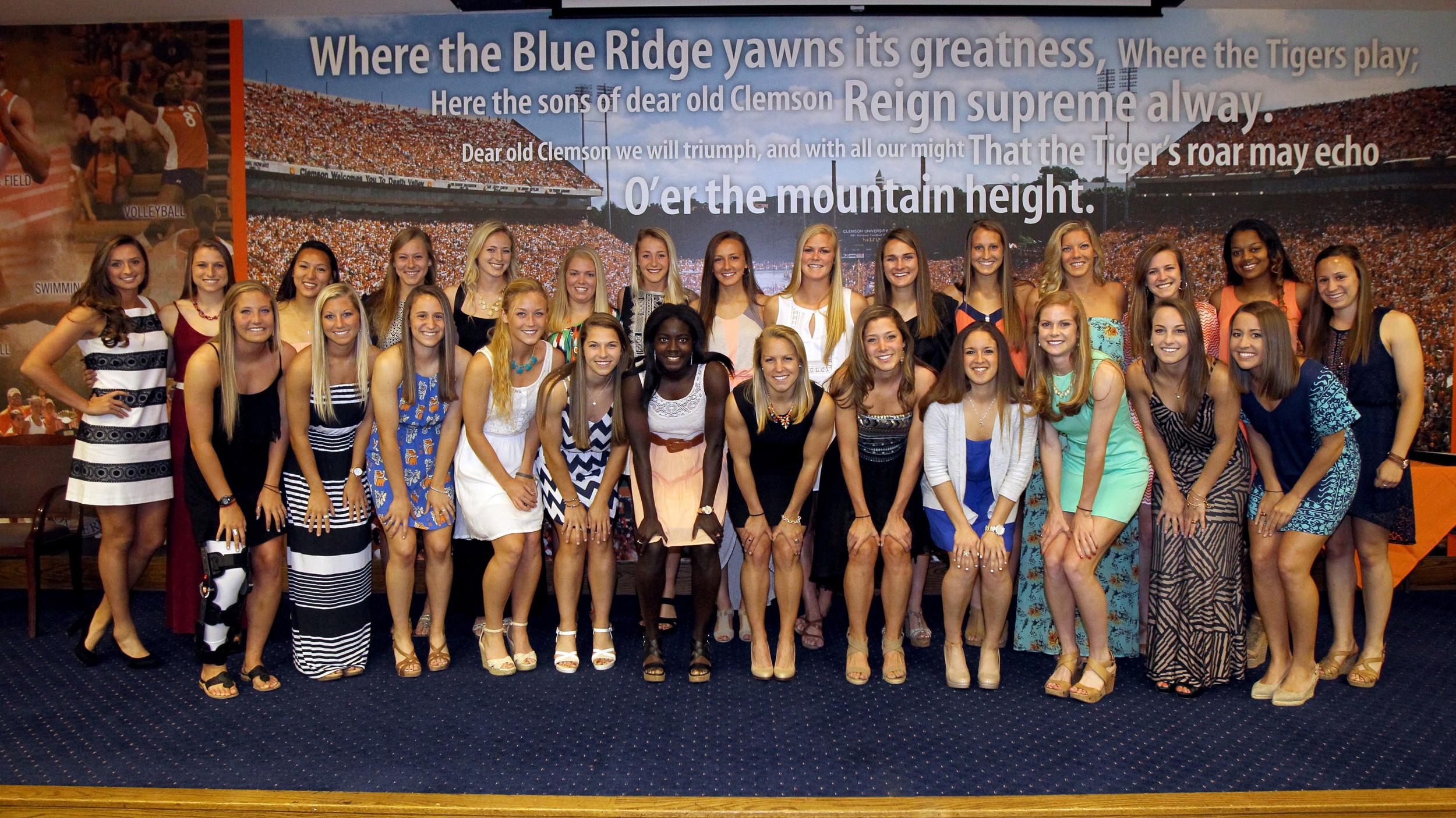 Women's Soccer Program Recognizes Award Winners at Annual Banquet