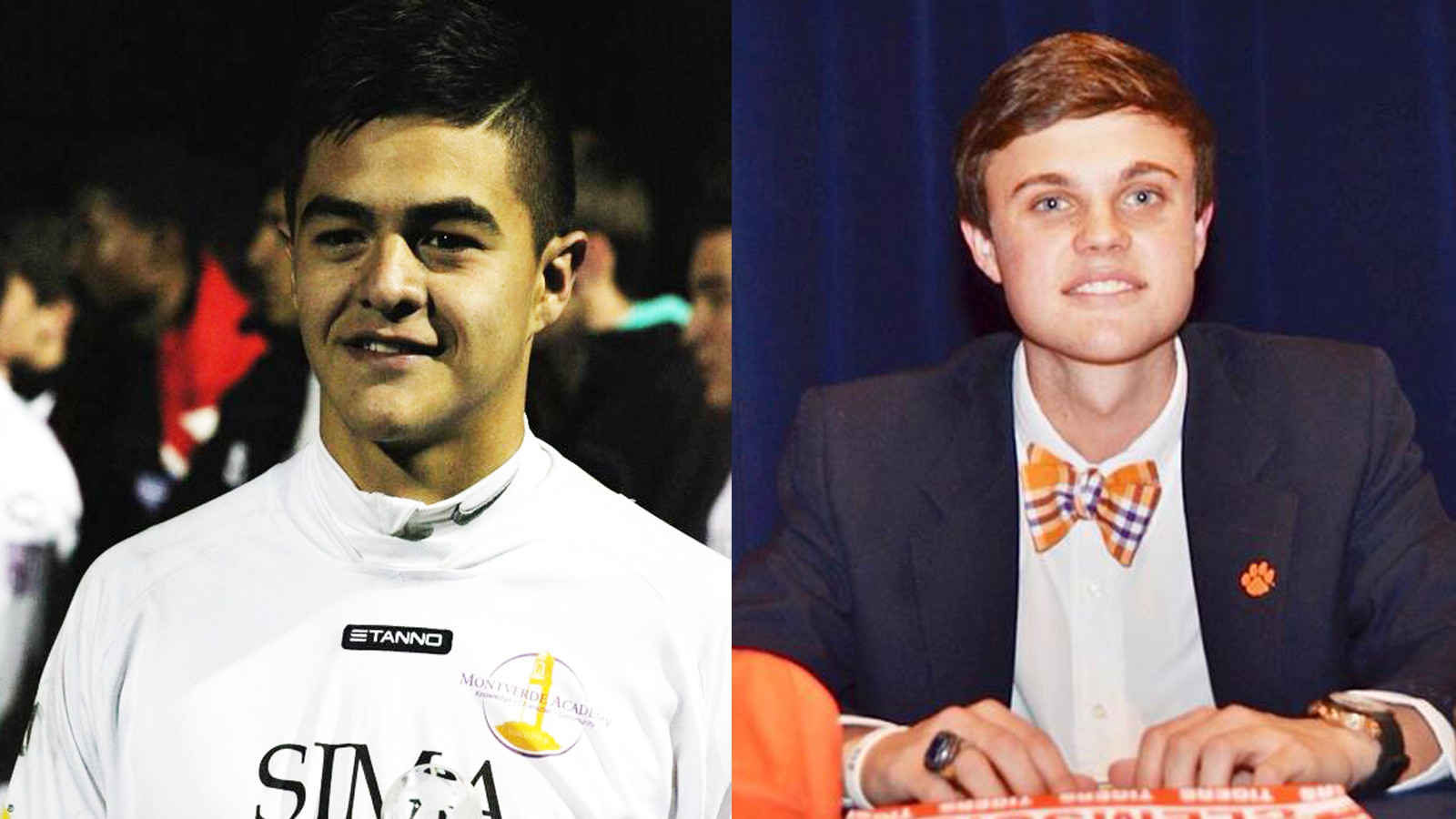 Two Clemson Men's Soccer Signees Honored