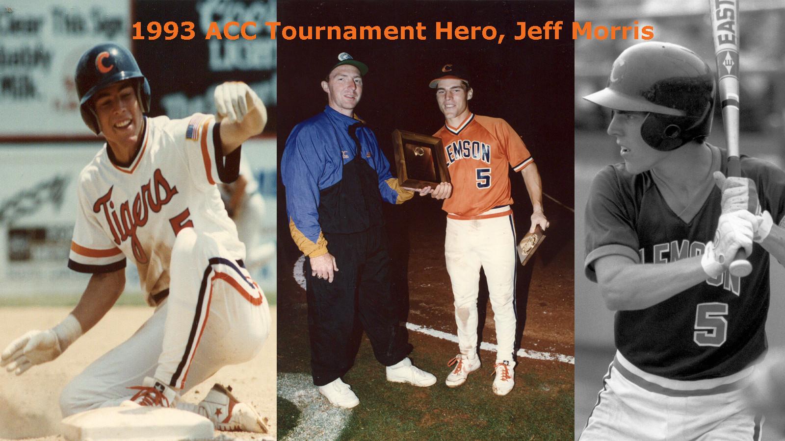 CLEMSON VAULT: Jeff Morris and the 1993 ACC Baseball Tournament