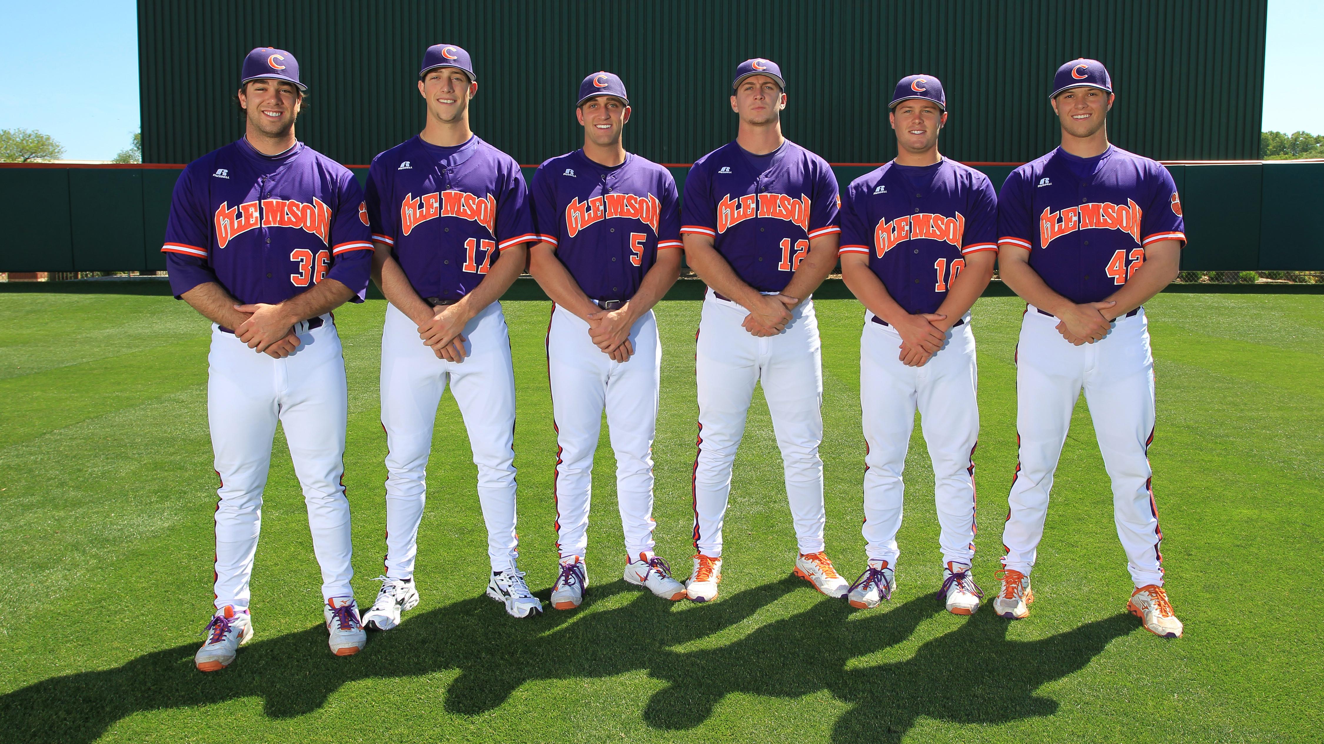 Six Tiger Baseball Players Graduate Friday