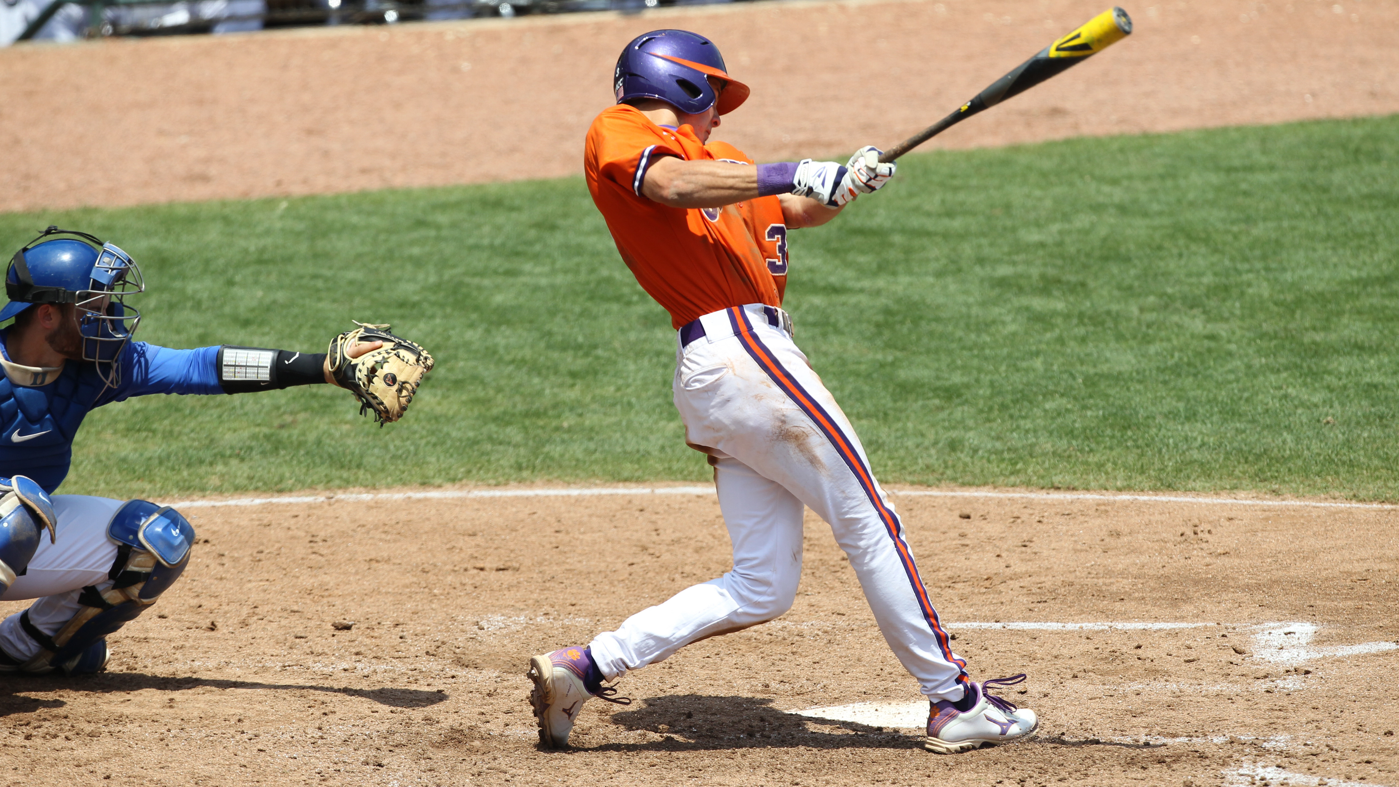 Tigers Rally to Down Duke 5-3 in ACC Opener Wednesday