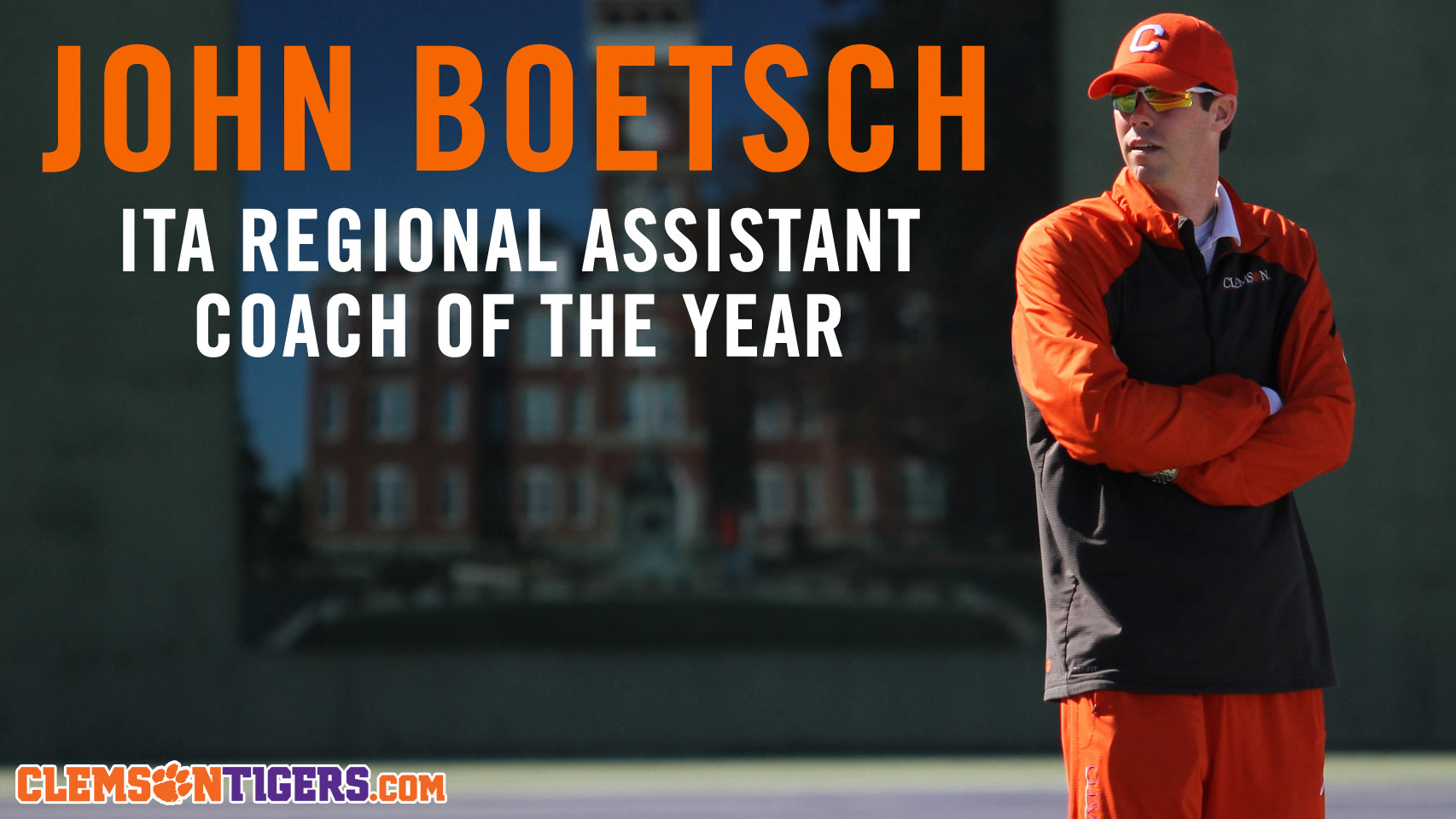 Boetsch Named ITA Regional Assistant Coach of the Year