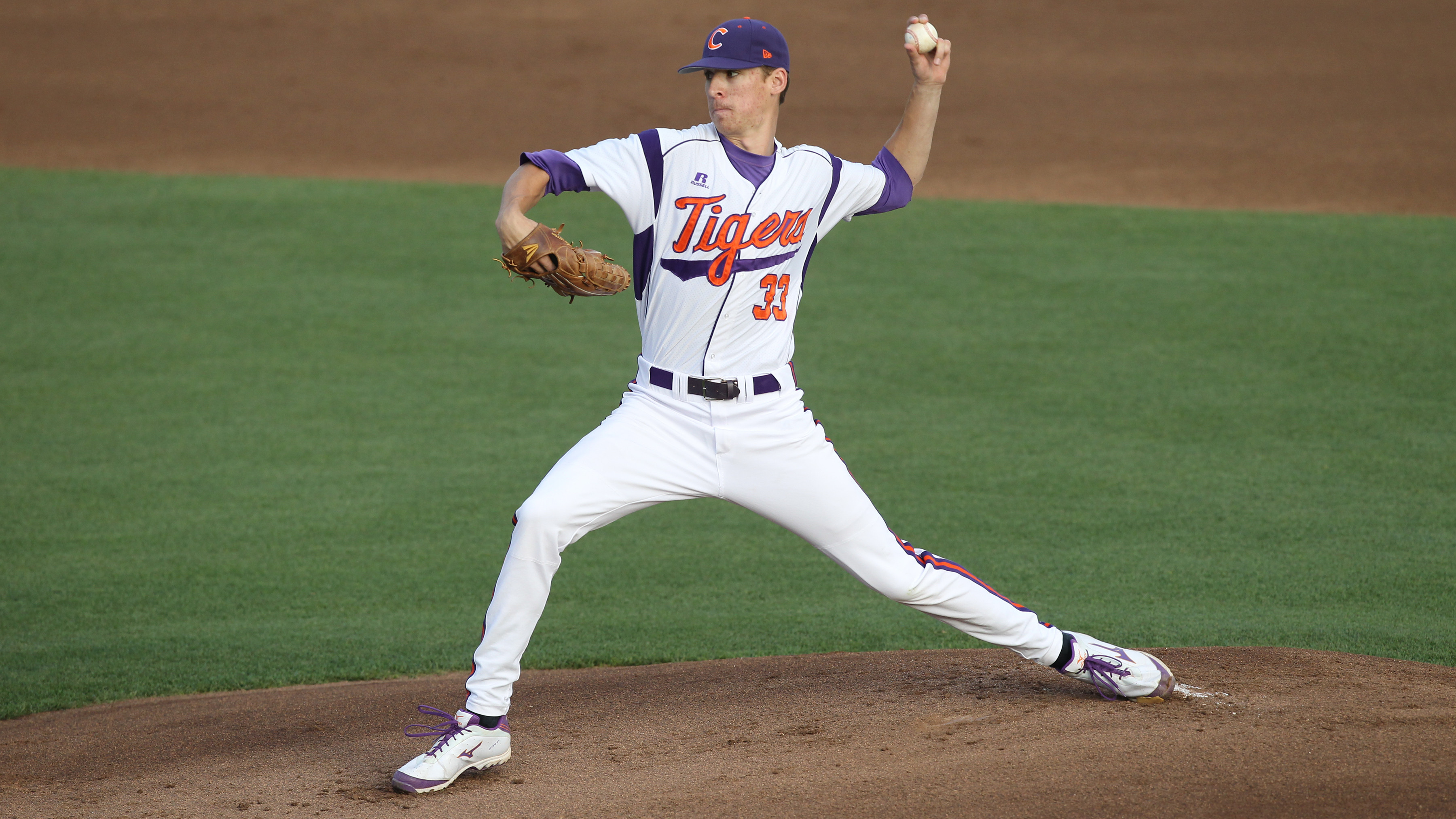 Erwin Pitches Tigers Over Dukes 8-0 Friday