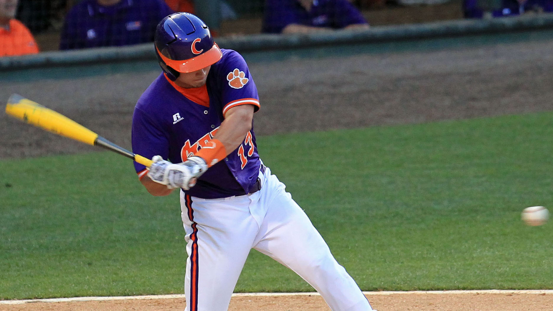 Tigers Score Three in the Eighth to Top Paladins 7-2 Tuesday