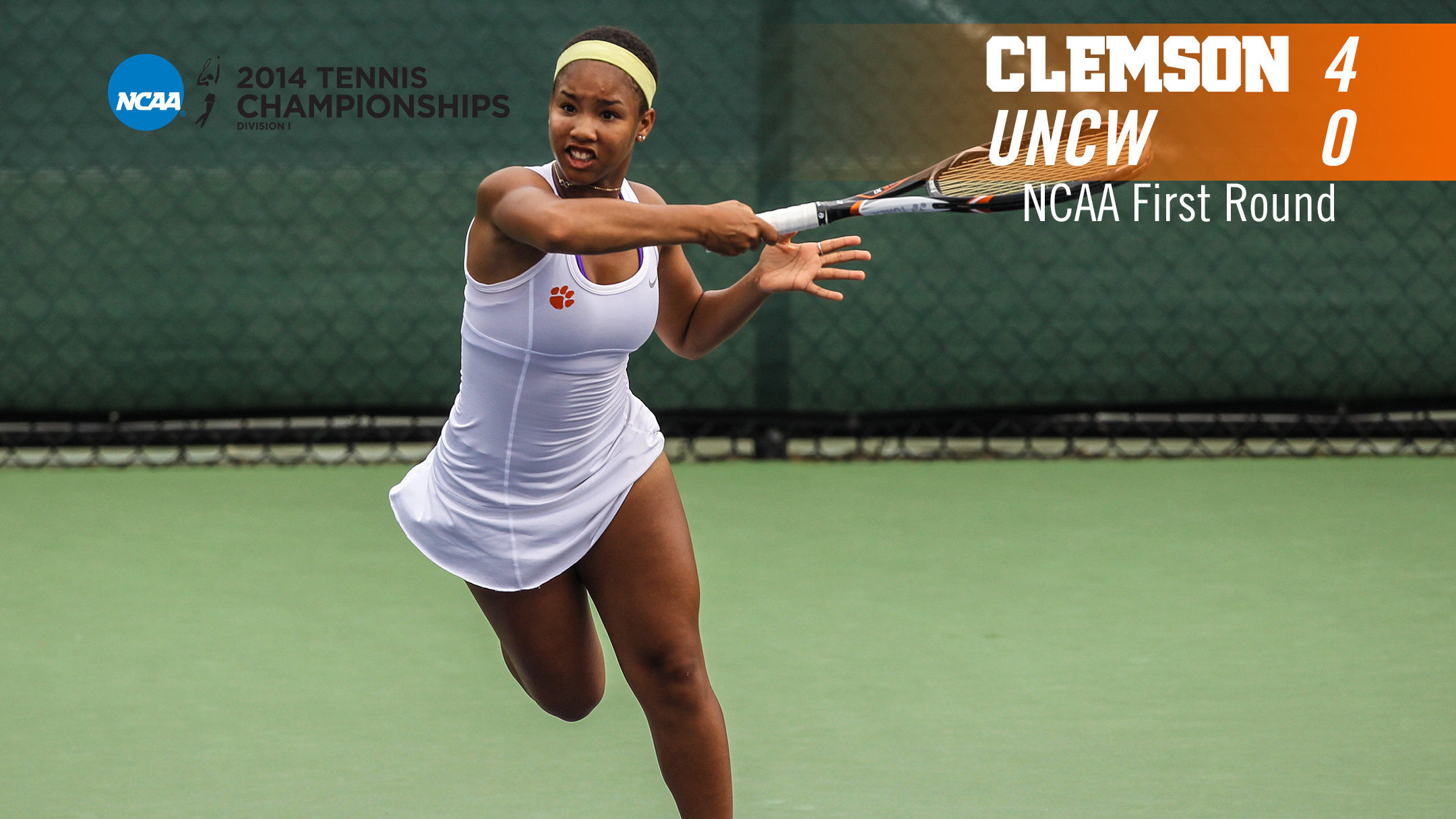 Women?s Tennis Tops UNCW, 4-0, in #NCAAMWTN First Round