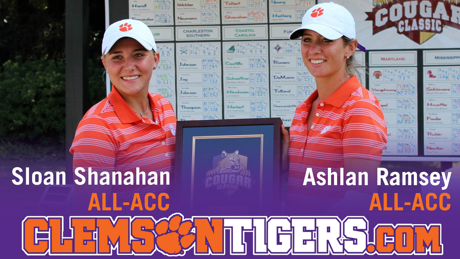 Ramsey and Shanahan Named All-ACC