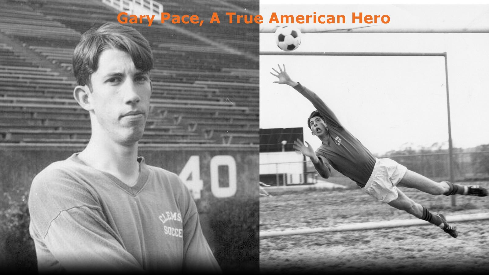 CLEMSON VAULT: Gary Pace, A True American Hero