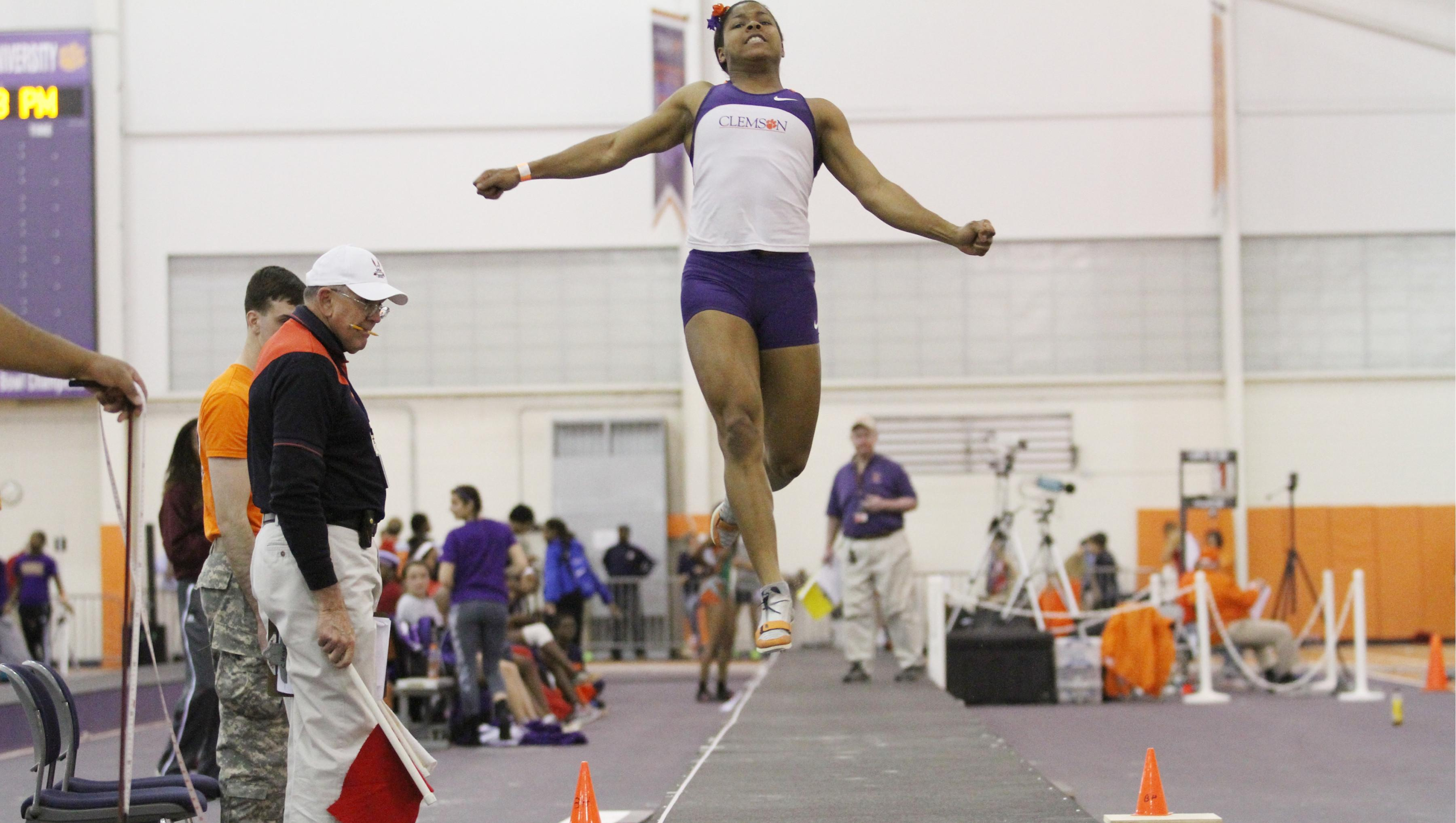 VIDEO: Versatile Whitney Fountain Tries Hand in the Triple Jump