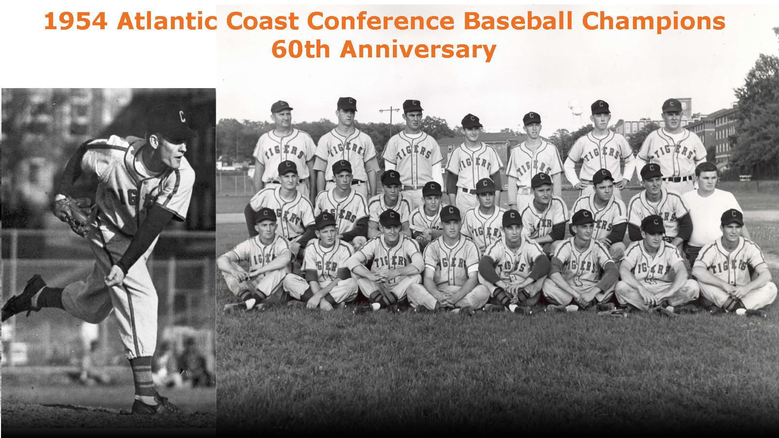 CLEMSON VAULT:  The 1954 ACC Baseball Champions