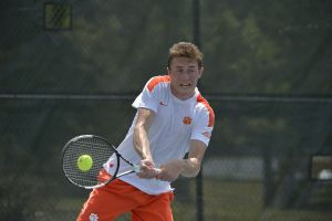 Play video: Harrington Discusses Singles Upset, Upcoming Matches, 4/6/14