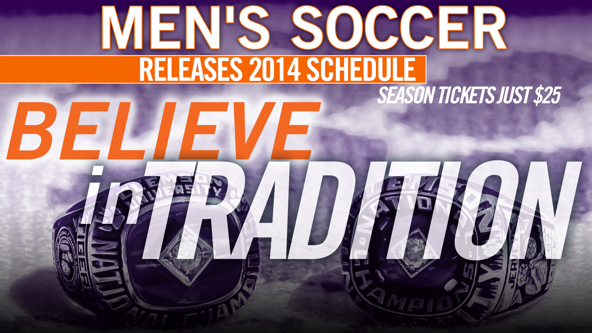 Clemson Men?s Soccer 2014 Schedule Released