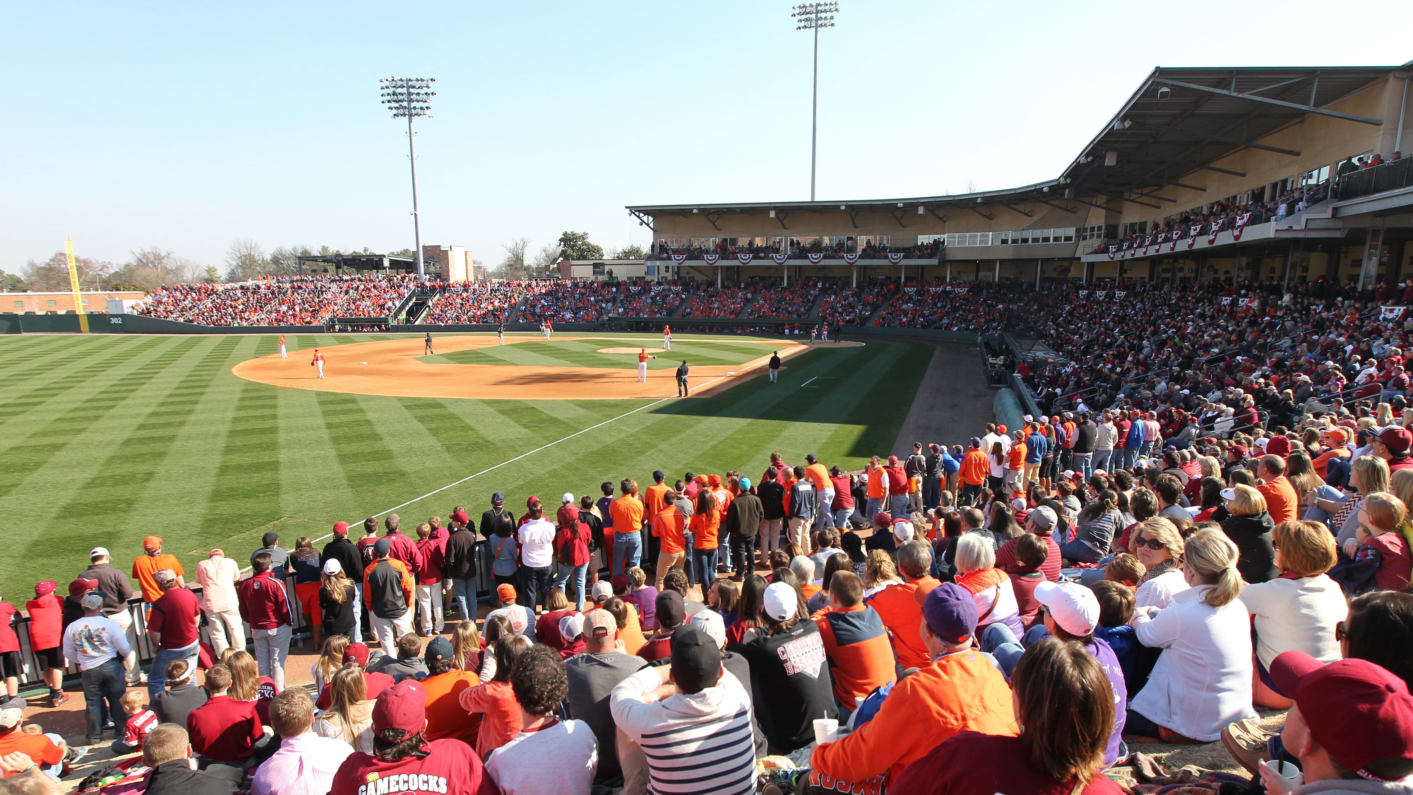Tigers & Gamecocks to Meet at Fluor Field From 2015-18