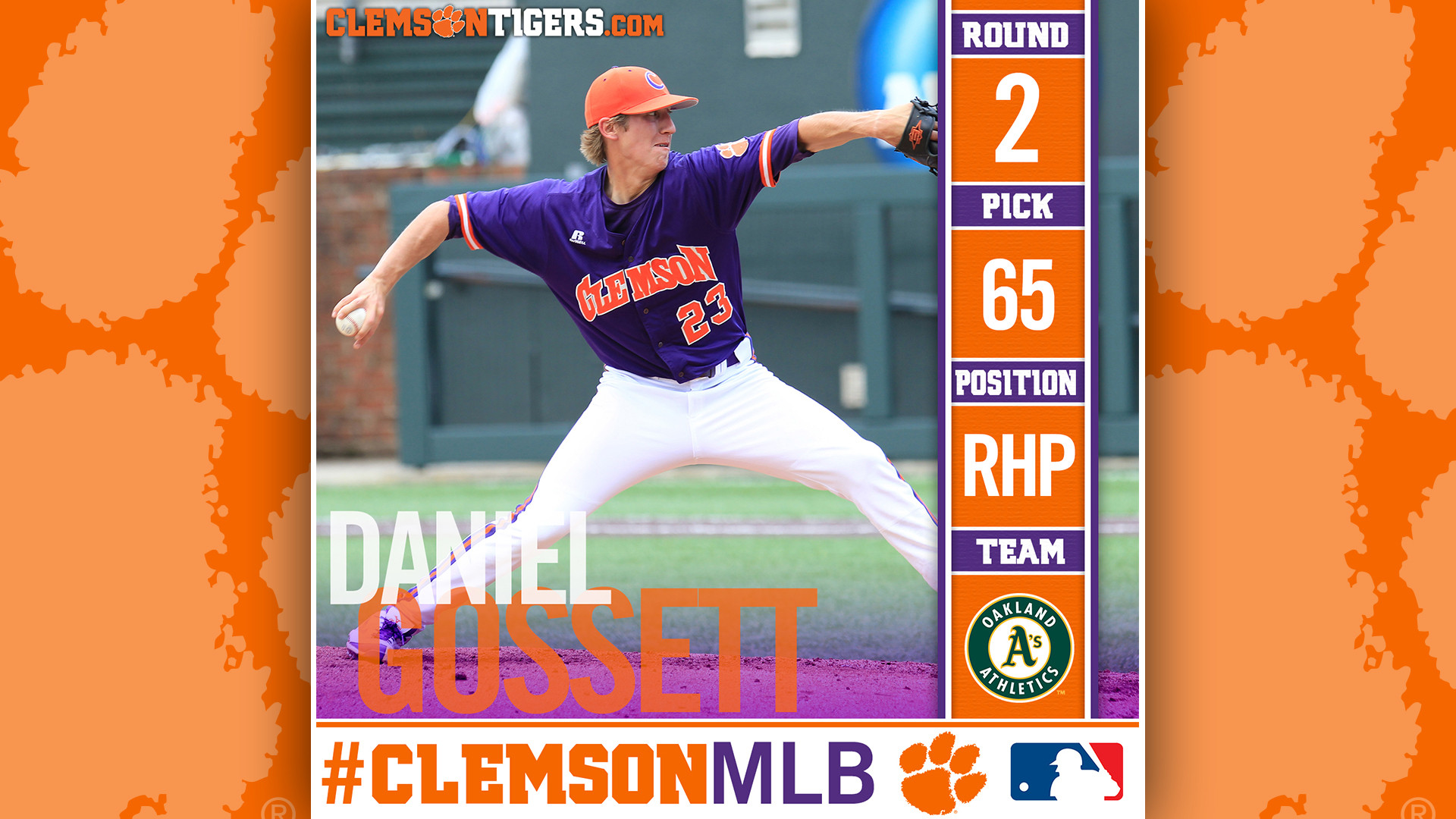 Gossett Drafted By Athletics in Second Round