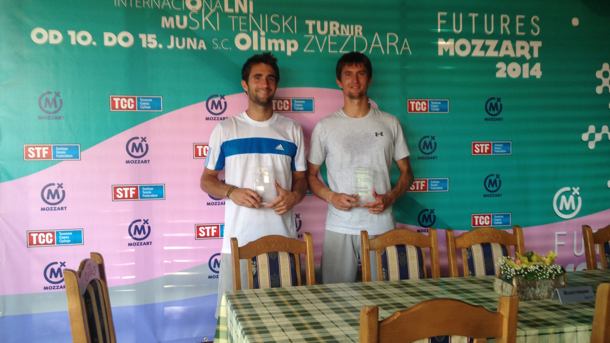 Maden Brothers Claim Doubles Title at Mozzart Futures in Serbia