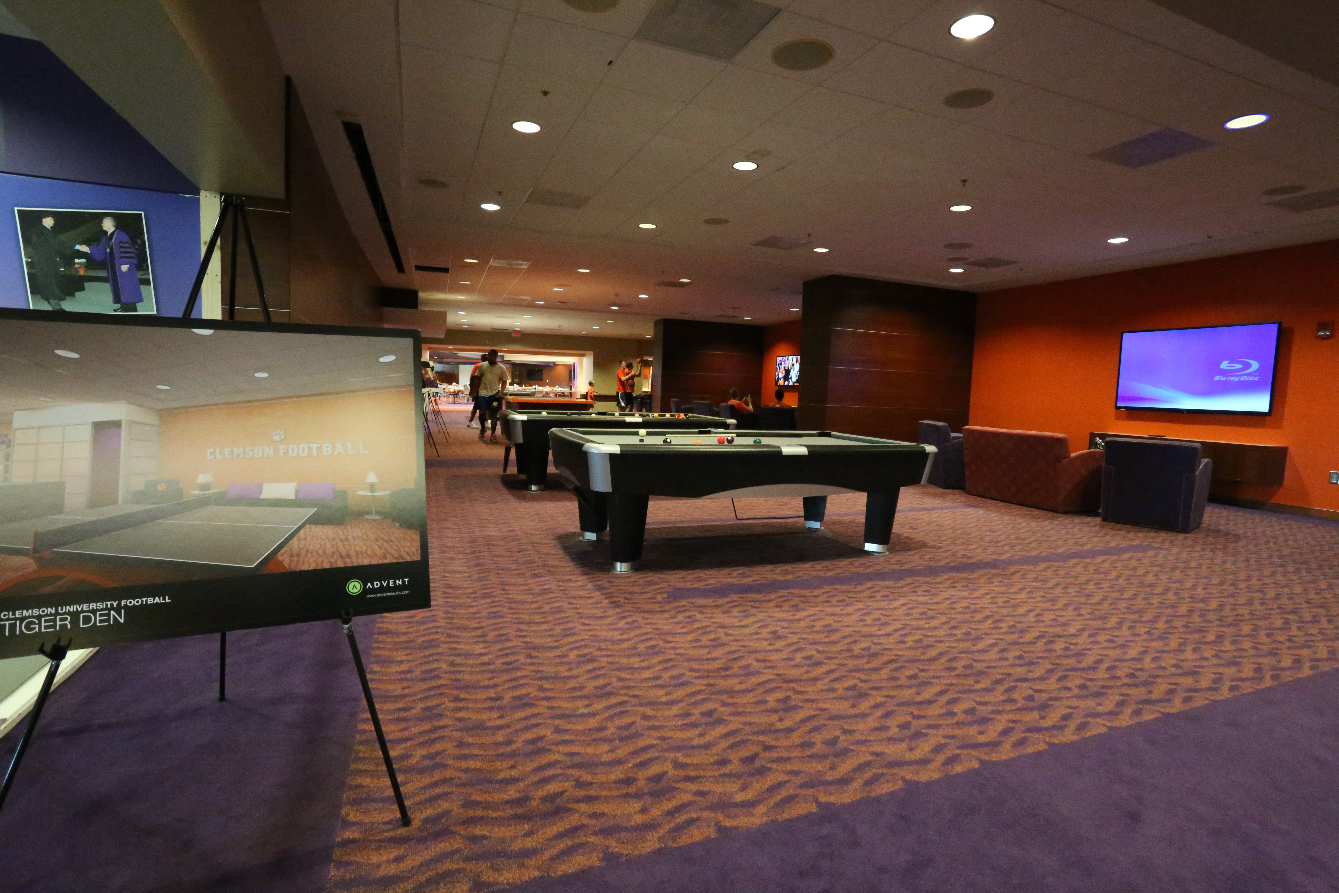 Video Tour || Clemson Football Player Lounge
