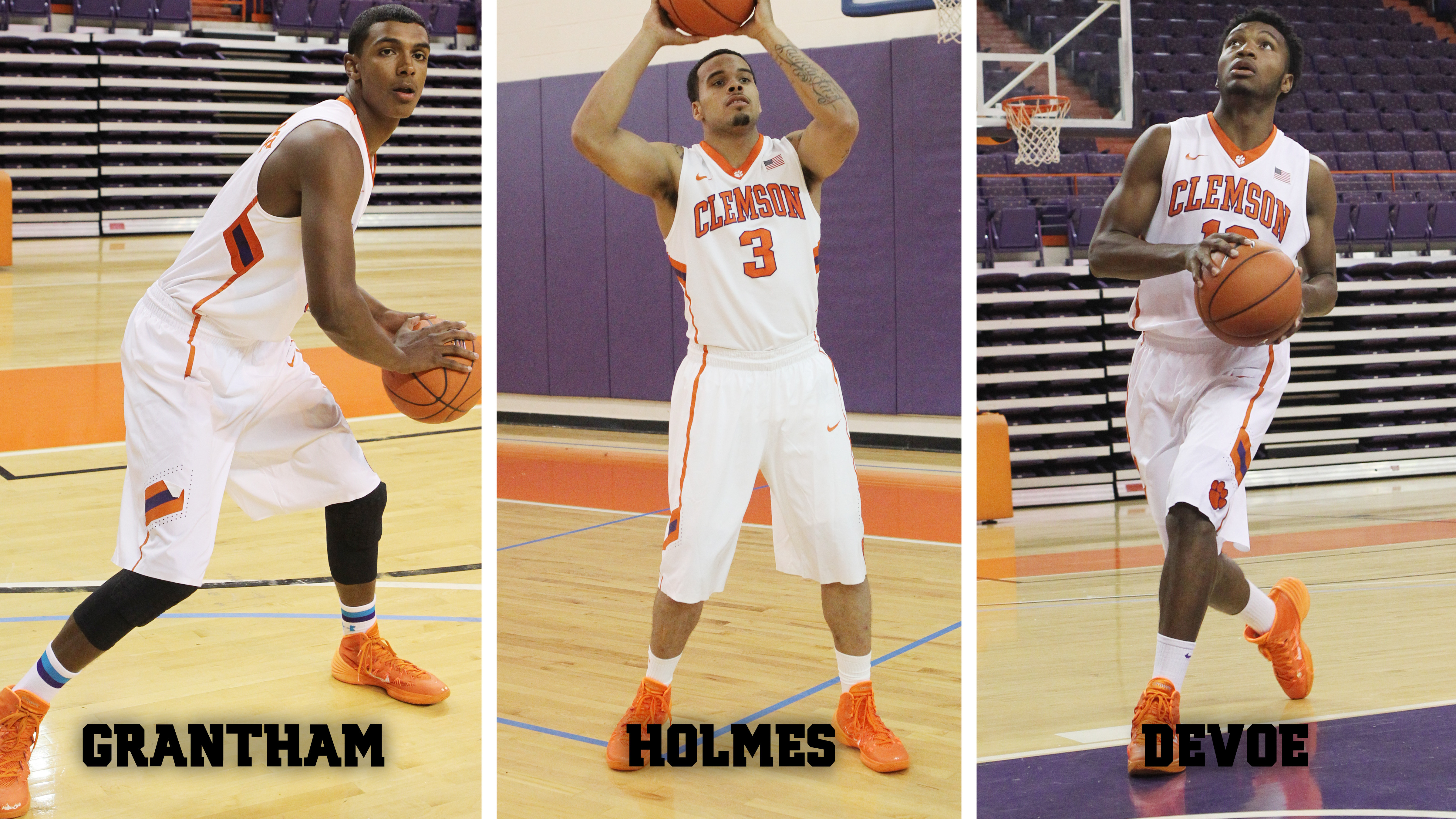Talented Trio of Newcomers Arrives in Tigertown
