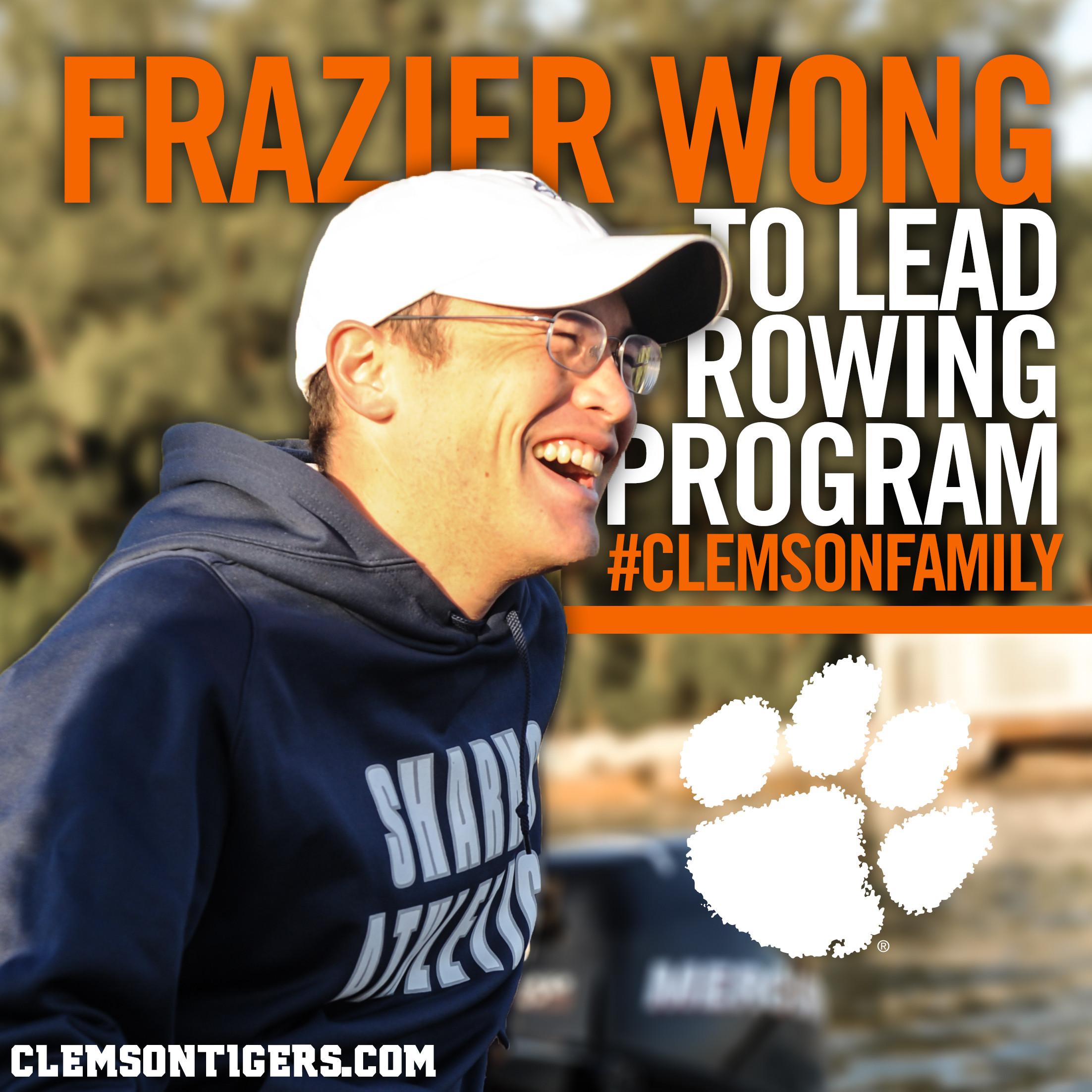 Frazier Wong Named Clemson Head Rowing Coach