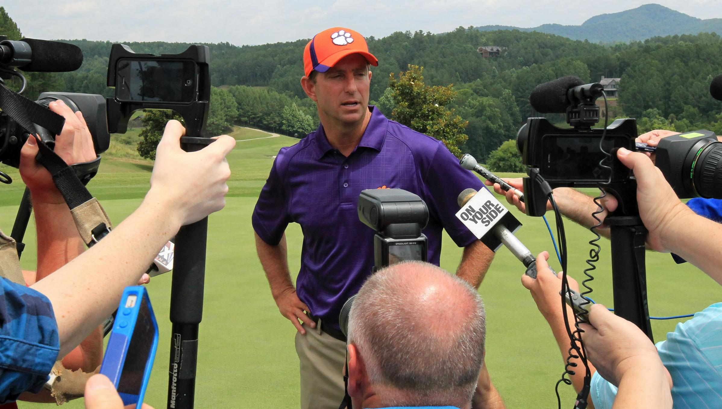 Sights & Sounds From the Swinney Media Golf Outing