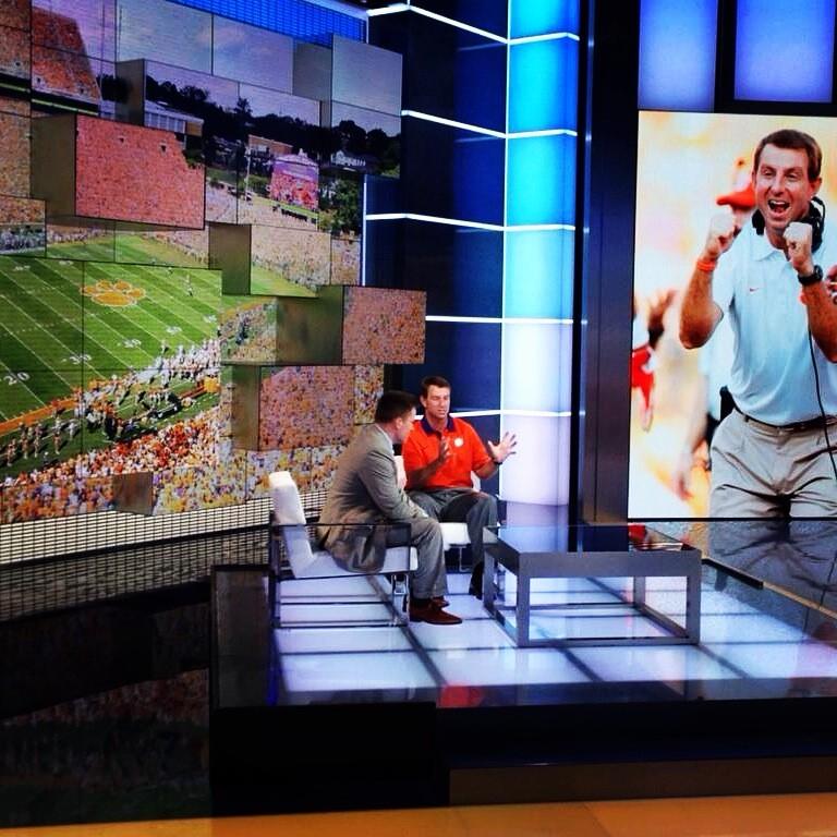 Dabo Swinney Visits ESPN