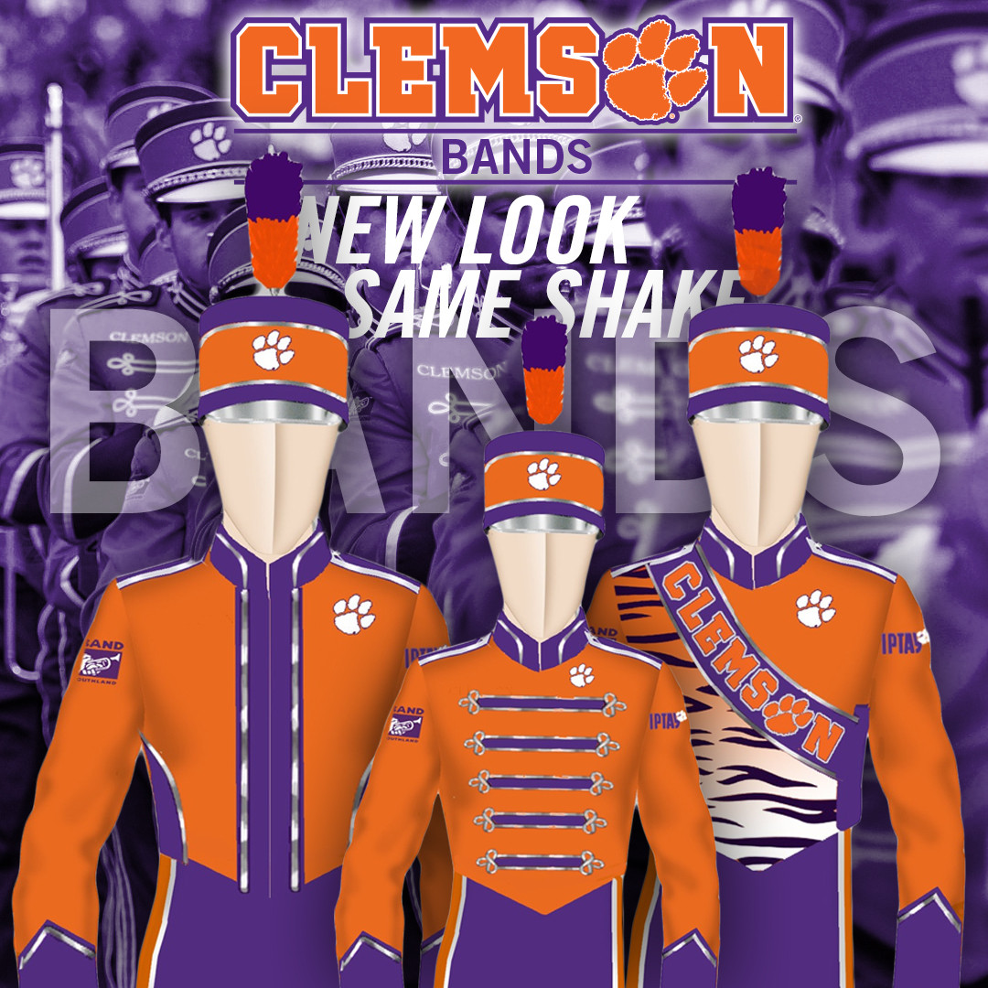 IPTAY Supplies New Band Unis