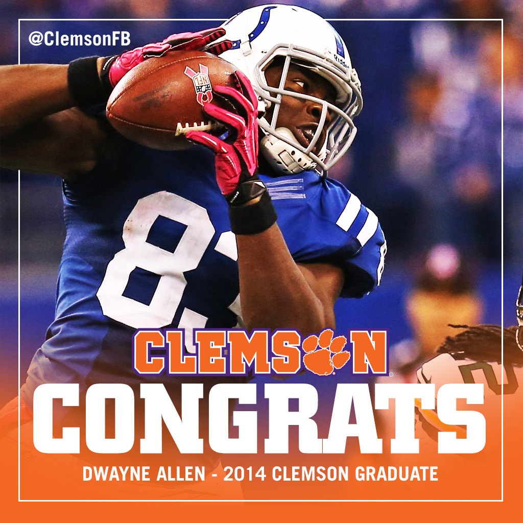 Allen Returns for Graduation