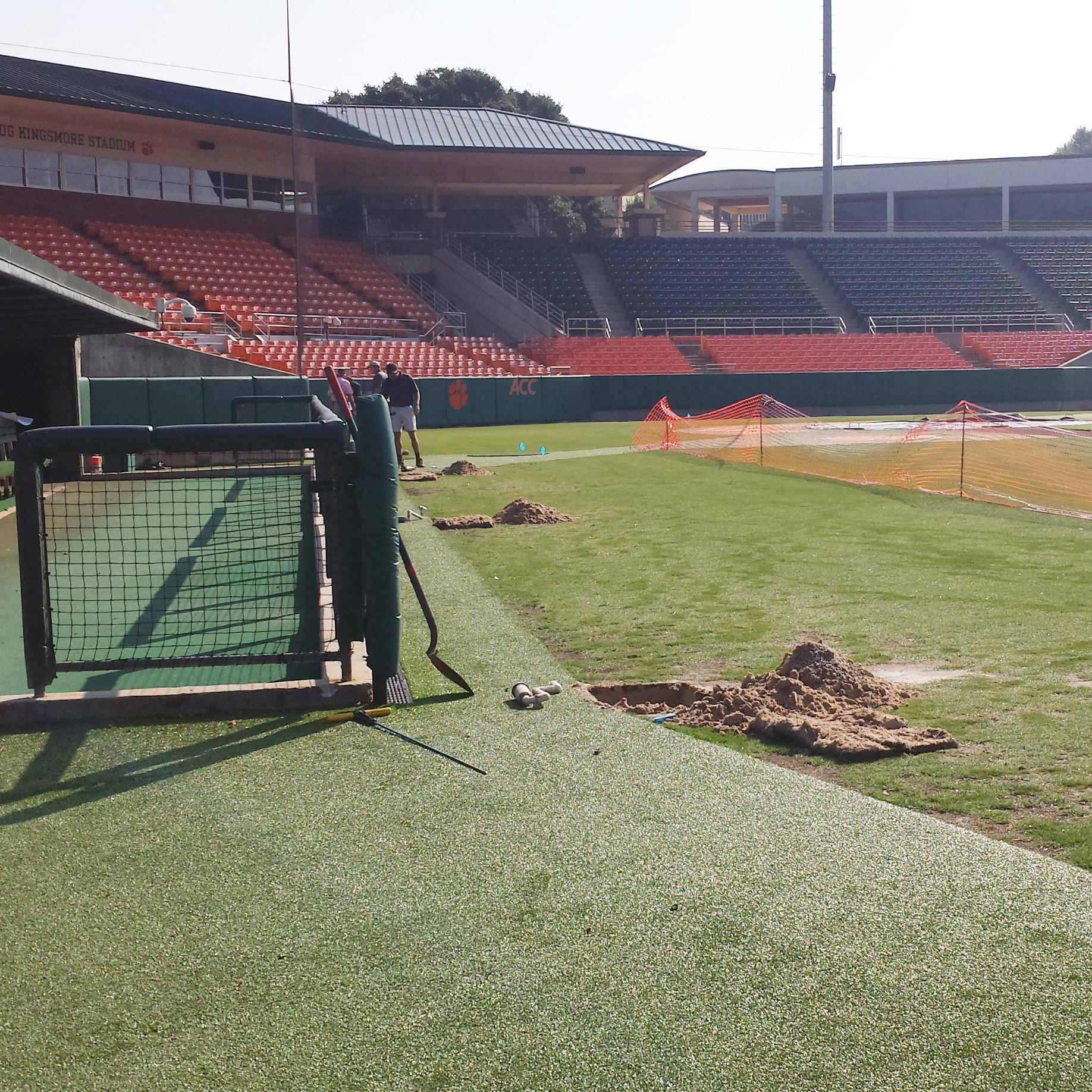 Doug Kingsmore Stadium Construction