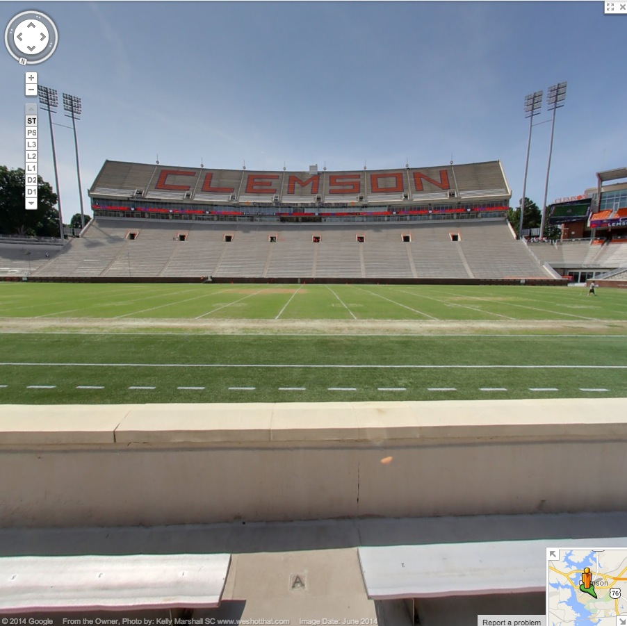 Google View for Death Valley