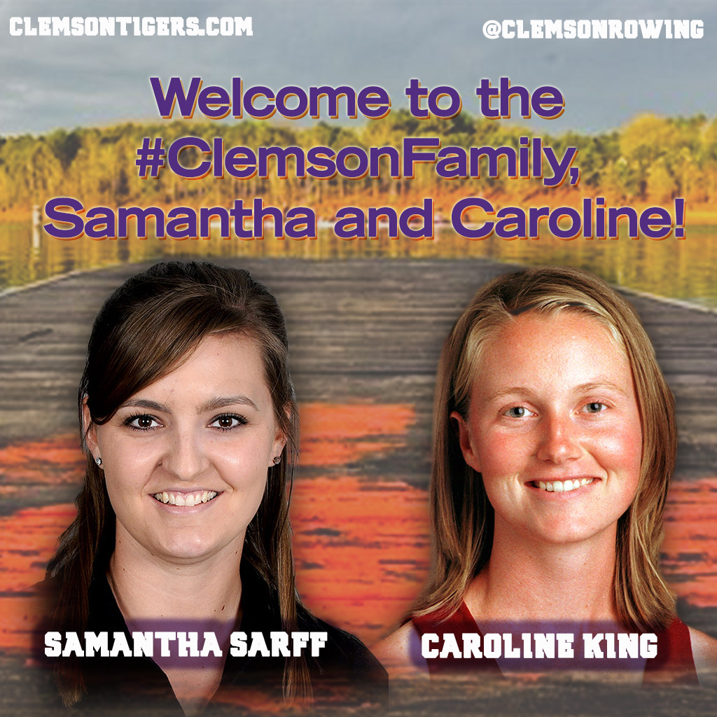 King, Sarff Named Assistant Rowing Coaches