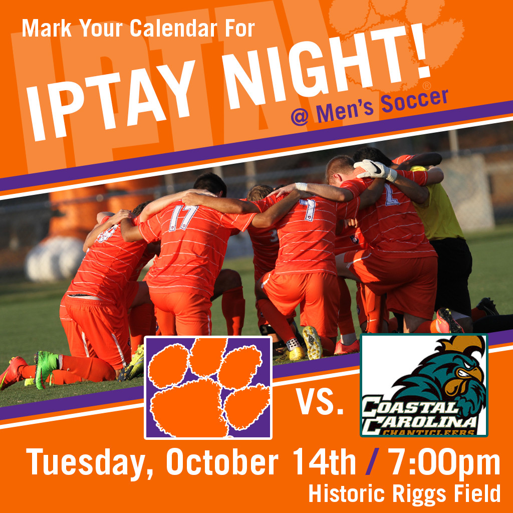 IPTAY Announces IPTAY Night at Men?s Soccer