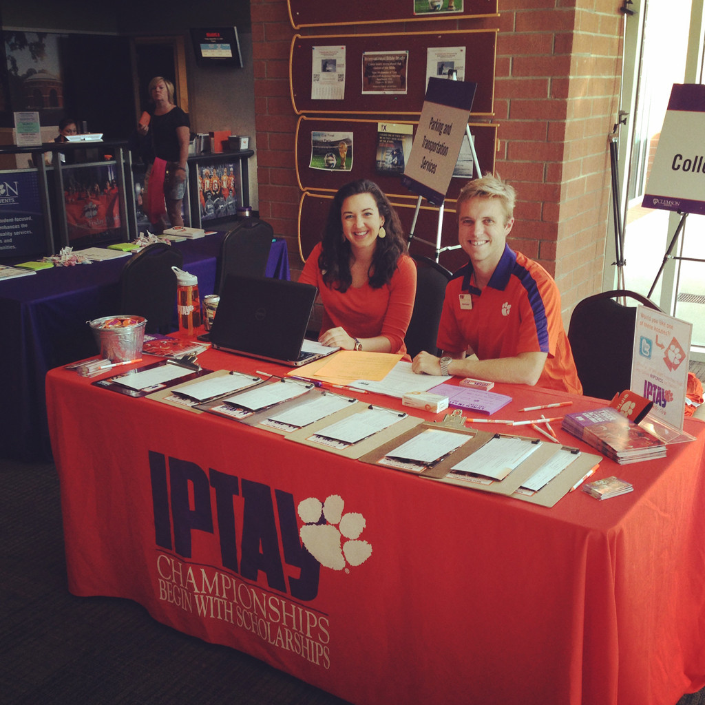 IPTAY Collegiate Club Wraps Up Successful Summer at CU Orientation