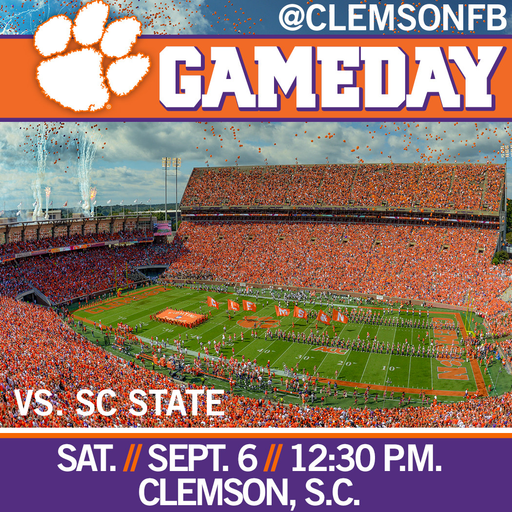 Clemson/SC State Gameday Guide