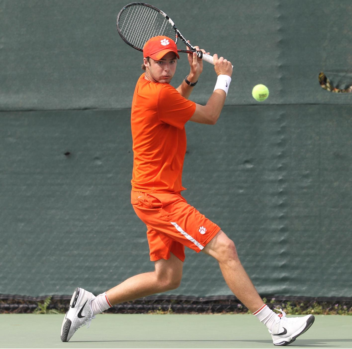 Augusto, Harrington Lead Tigers at ITA Carolina Regionals