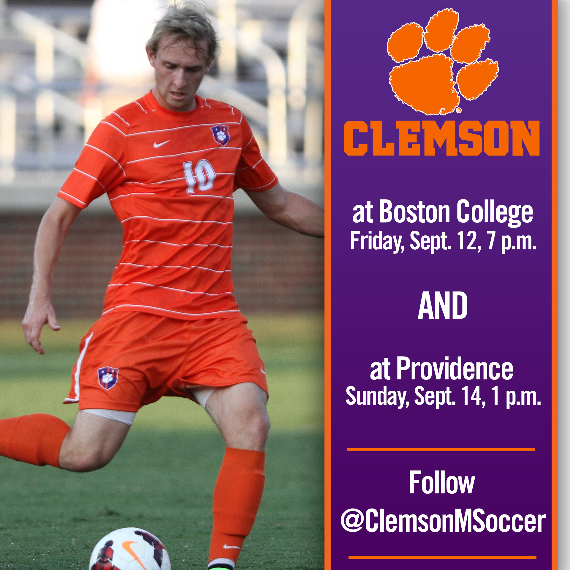 Clemson Heads North for Boston College, Providence this Weekend