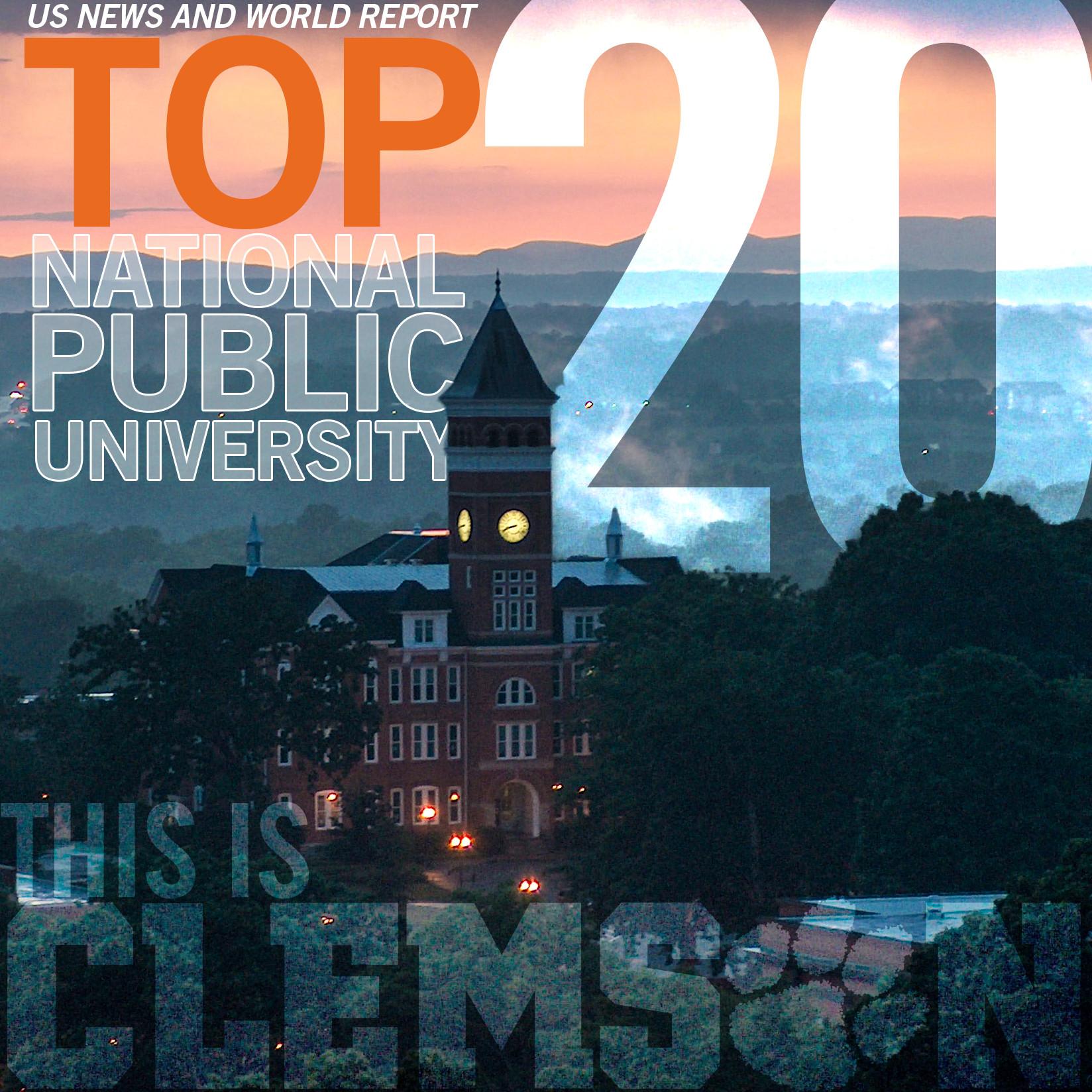 Clemson Achieves Top 20 Rank