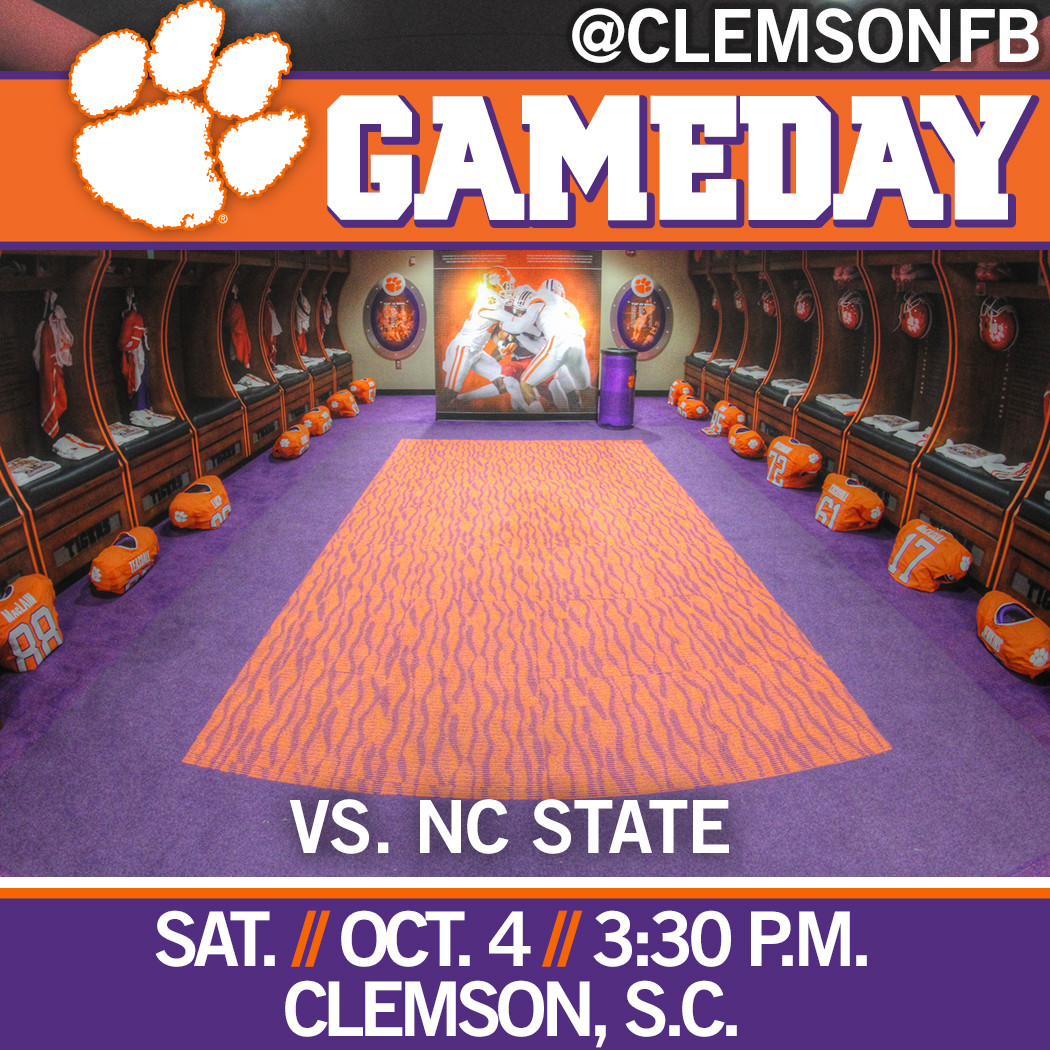 Clemson/NC State Gameday Guide